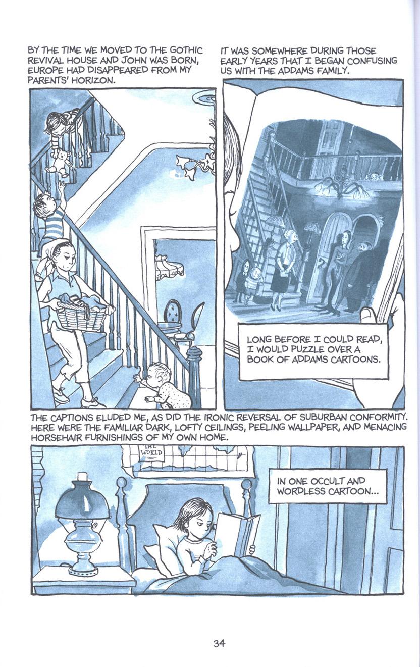 Read online Fun Home: A Family Tragicomic comic -  Issue # TPB - 41