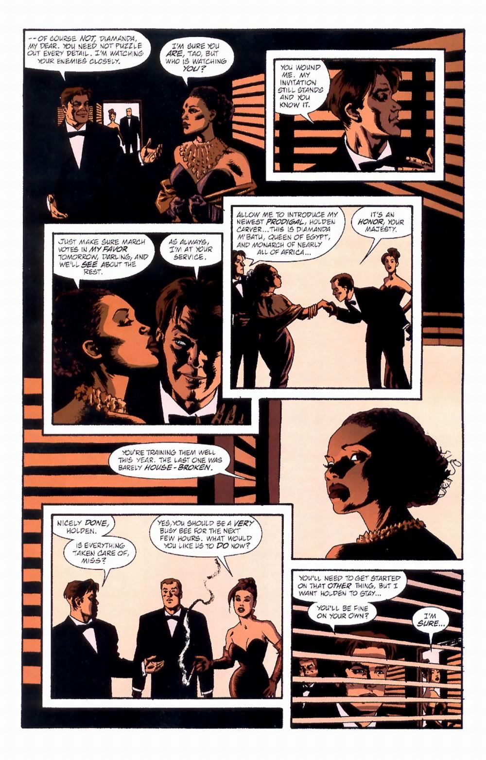 Read online Sleeper comic -  Issue #4 - 12