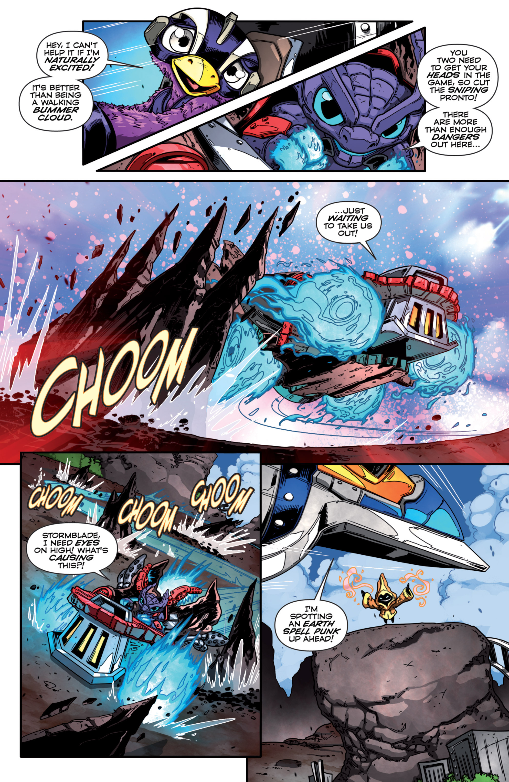 Read online Skylanders Superchargers comic -  Issue #1 - 12
