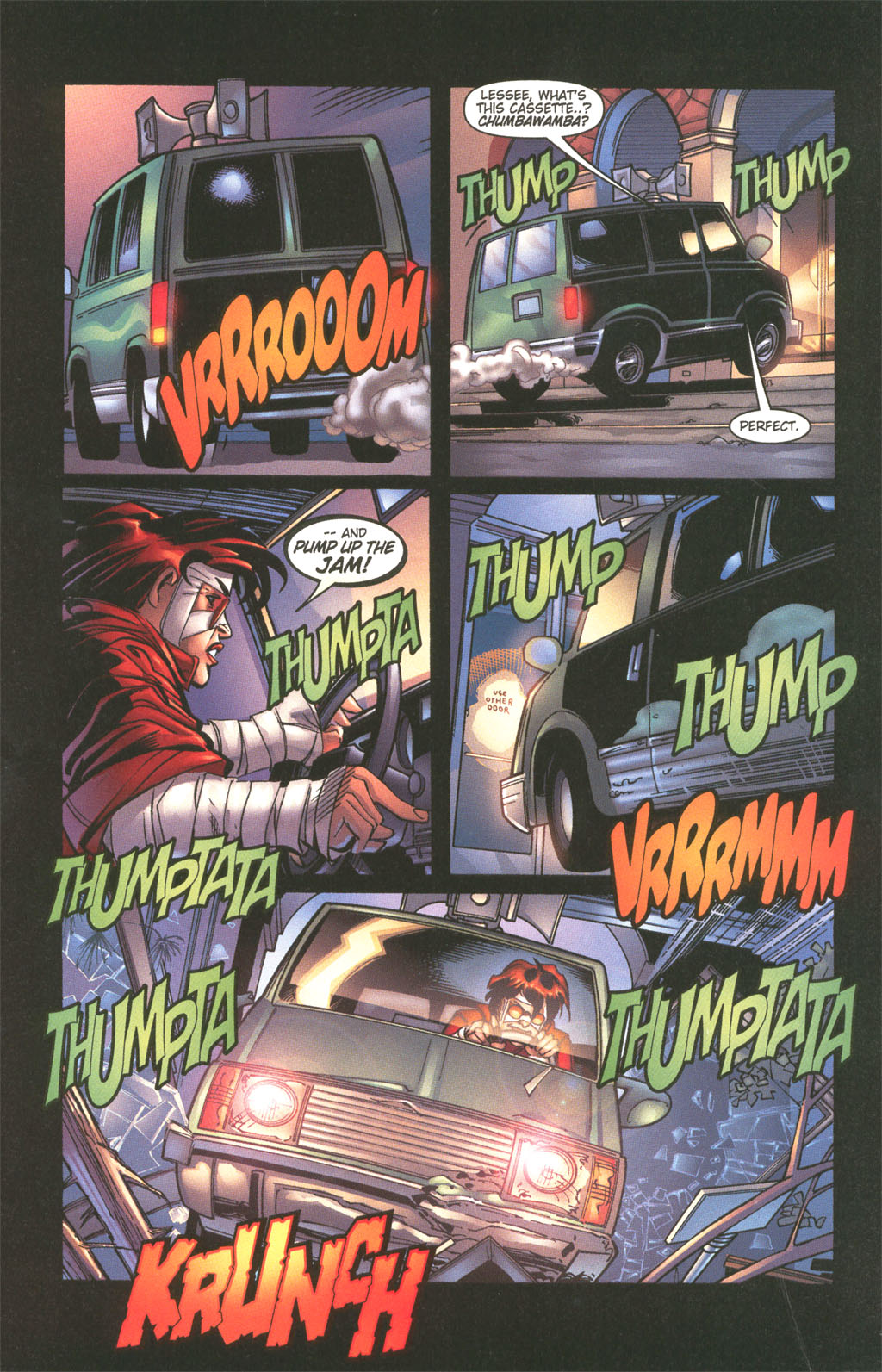 Read online Painkiller Jane/Hellboy comic -  Issue # Full - 21