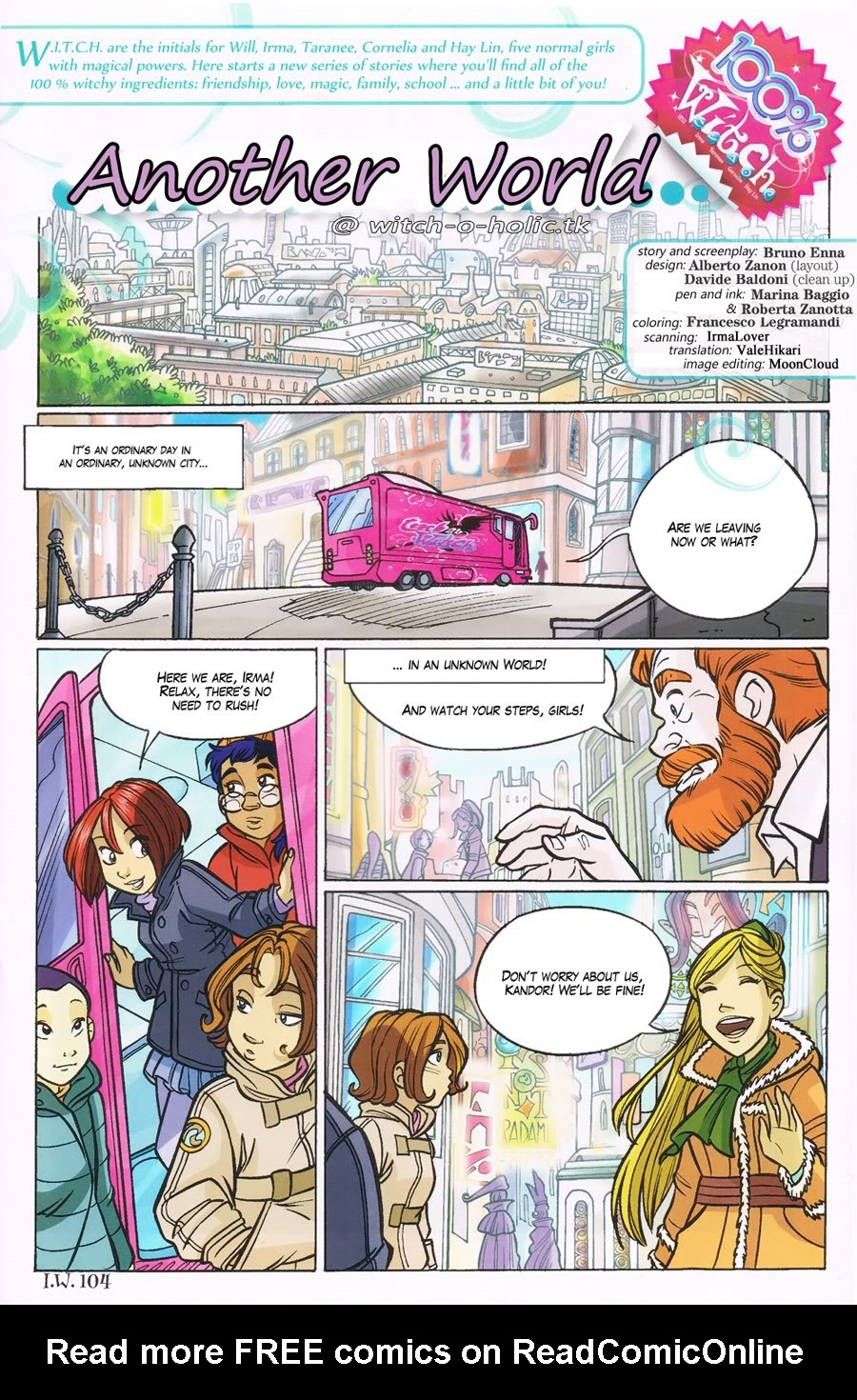 W.i.t.c.h. 104 Page 1