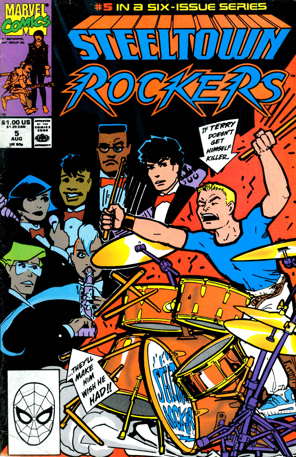 Steeltown Rockers issue 5 - Page 1