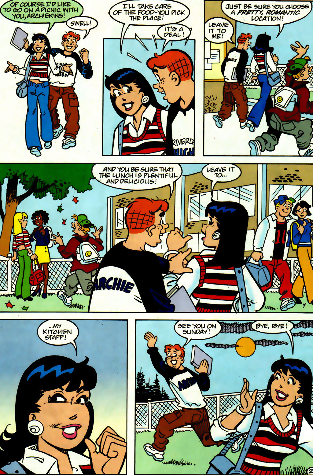 Read online Archie (1960) comic -  Issue #560 - 3