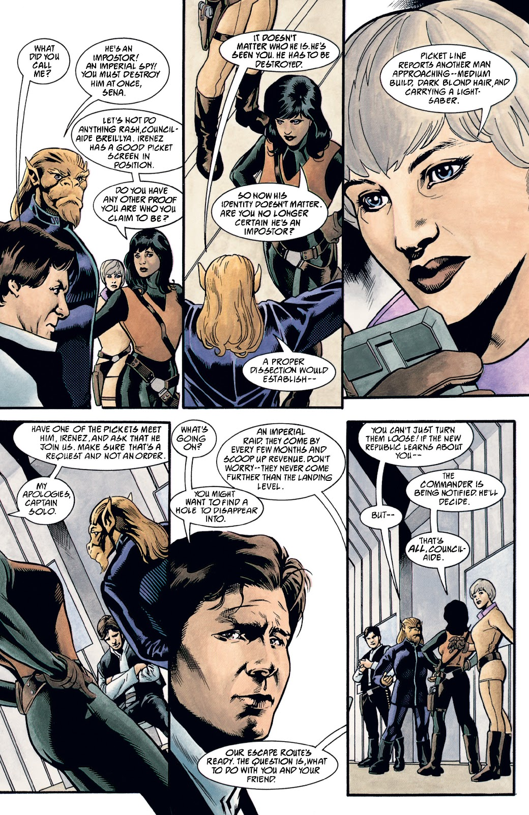 Read online Star Wars Legends: The New Republic - Epic Collection comic -  Issue # TPB 4 (Part 2) - 83