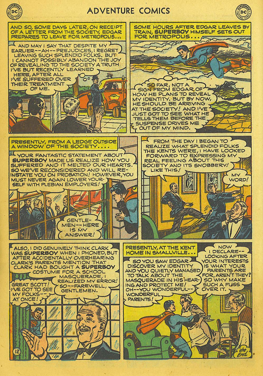 Read online Adventure Comics (1938) comic -  Issue #169 - 13
