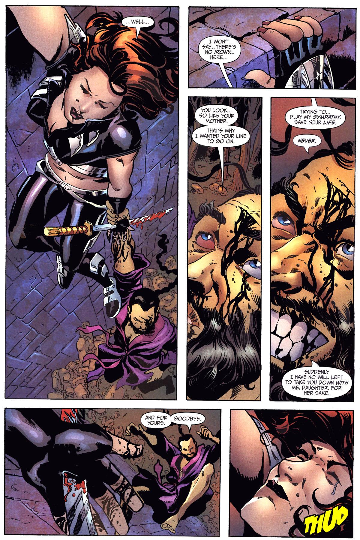 Read online Secret Six (2006) comic -  Issue #6 - 17