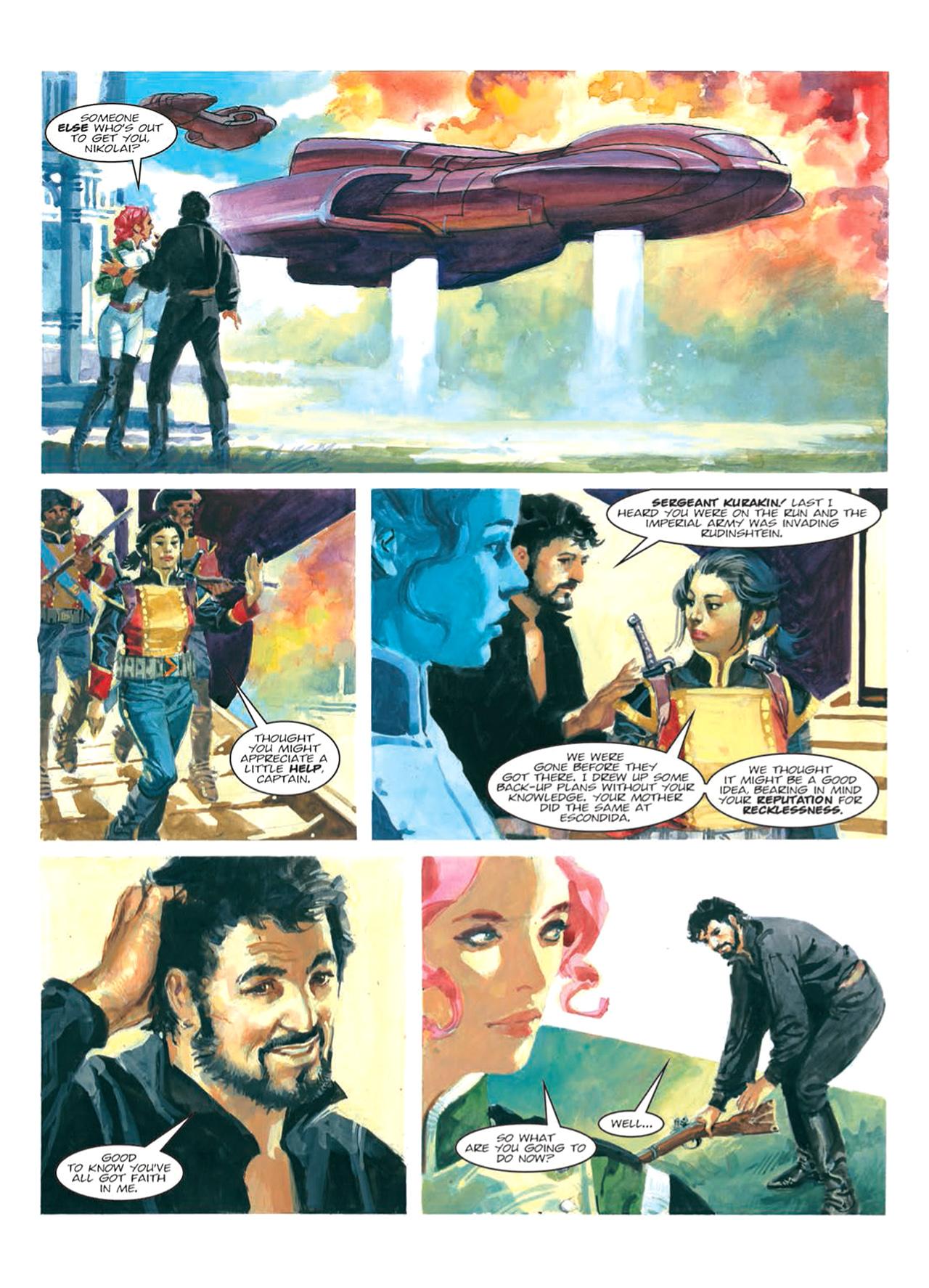 Read online Nikolai Dante comic -  Issue # TPB 9 - 119