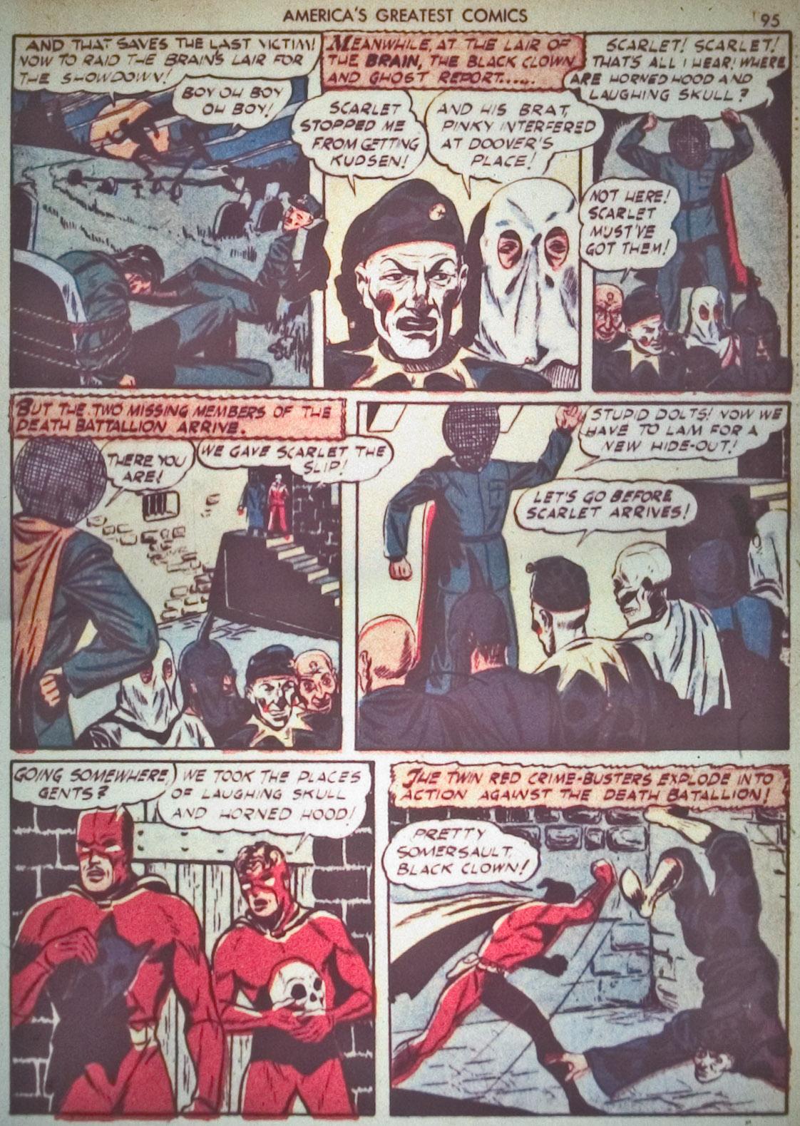 Read online America's Greatest Comics comic -  Issue #1 - 98
