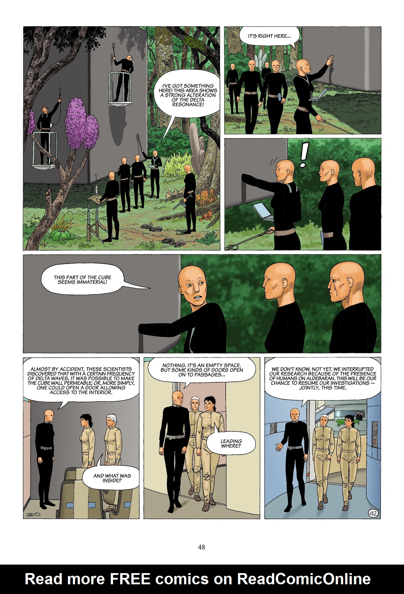 Read online Antares comic -  Issue #6 - 50