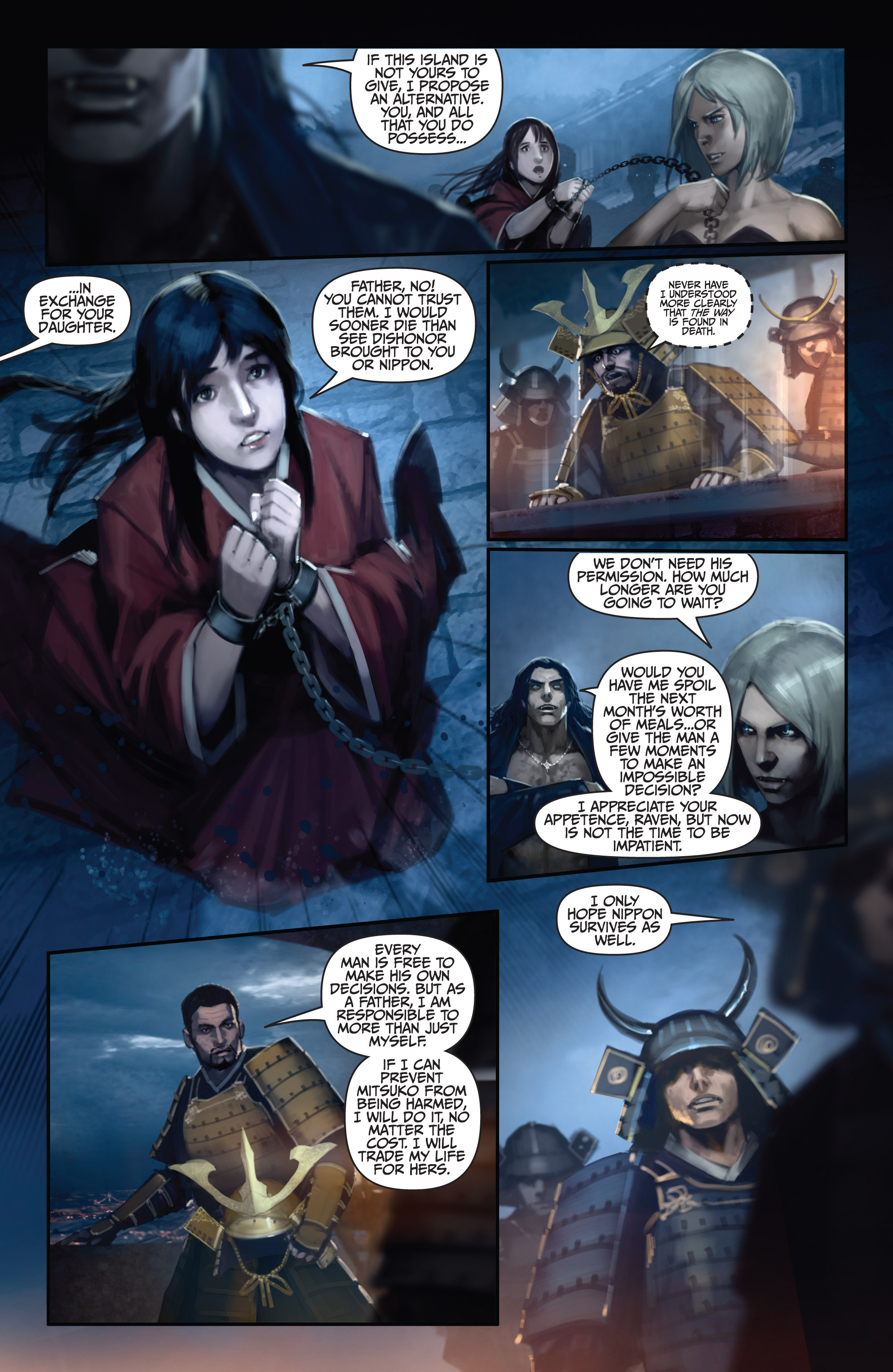 Read online Bushido: The Way of the Warrior comic -  Issue #5 - 7