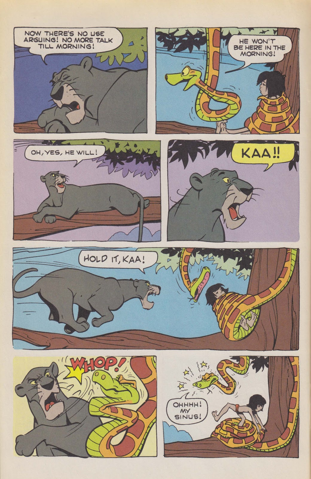 Read online The Jungle Book comic -  Issue # Full - 12