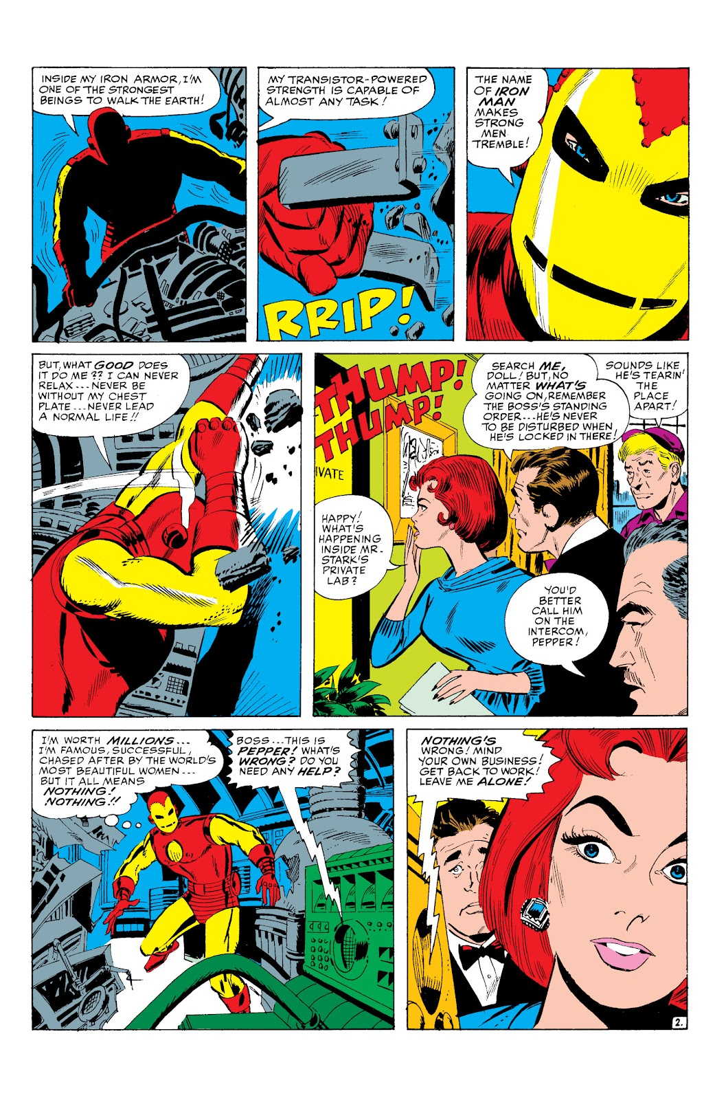 Read online Marvel Masterworks: The Invincible Iron Man comic -  Issue # TPB 2 (Part 1) - 83