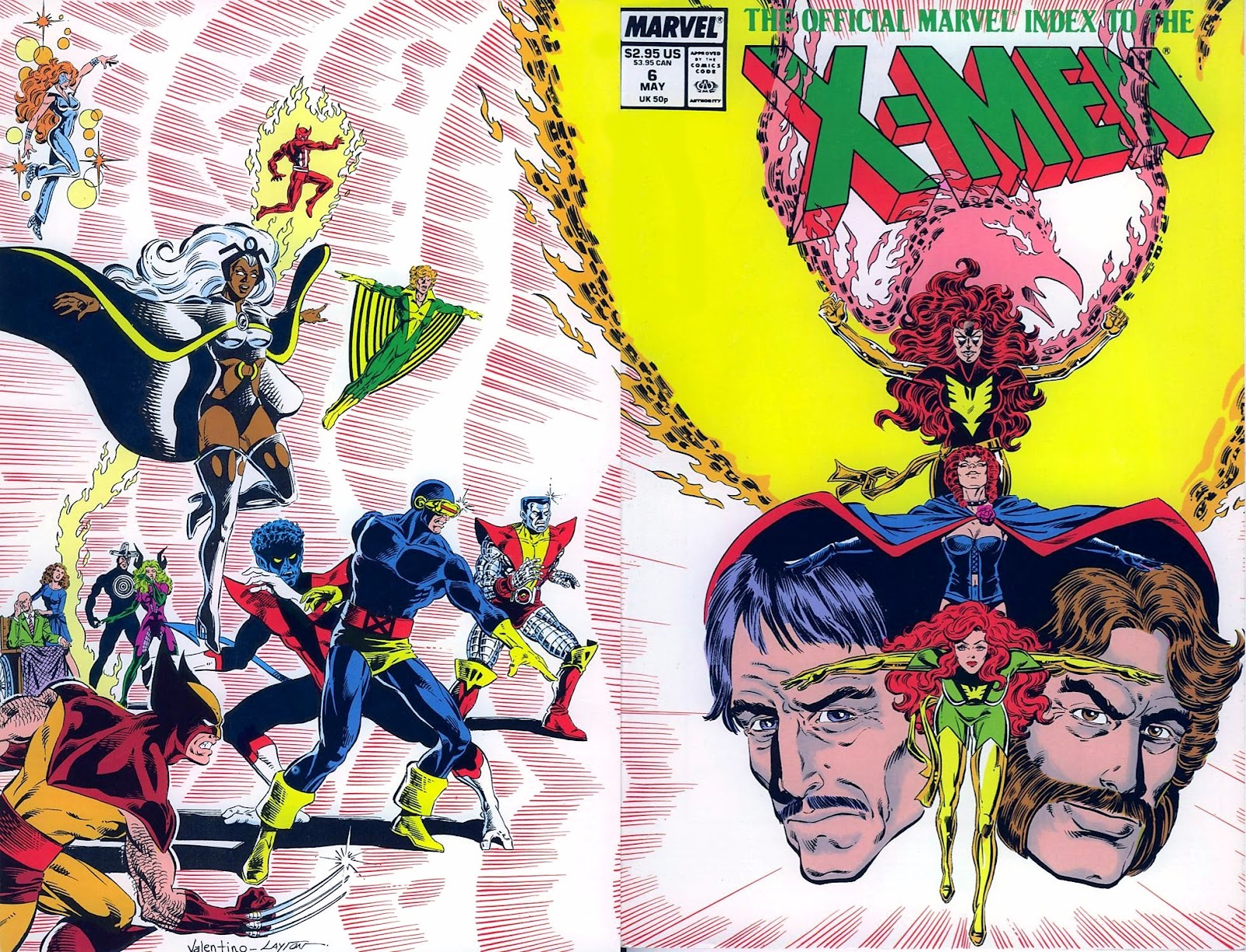 The Official Marvel Index To The X-Men (1987) issue 6 - Page 1