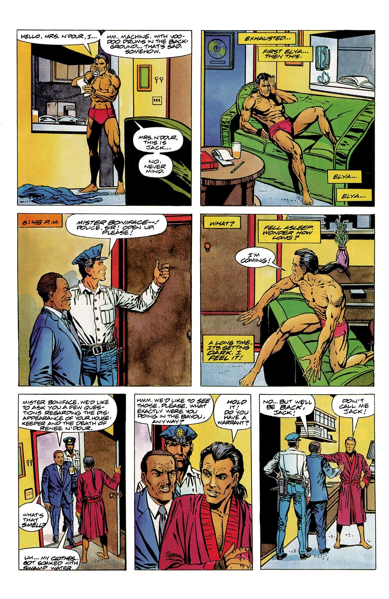 Read online Shadowman (1992) comic -  Issue #6 - 9