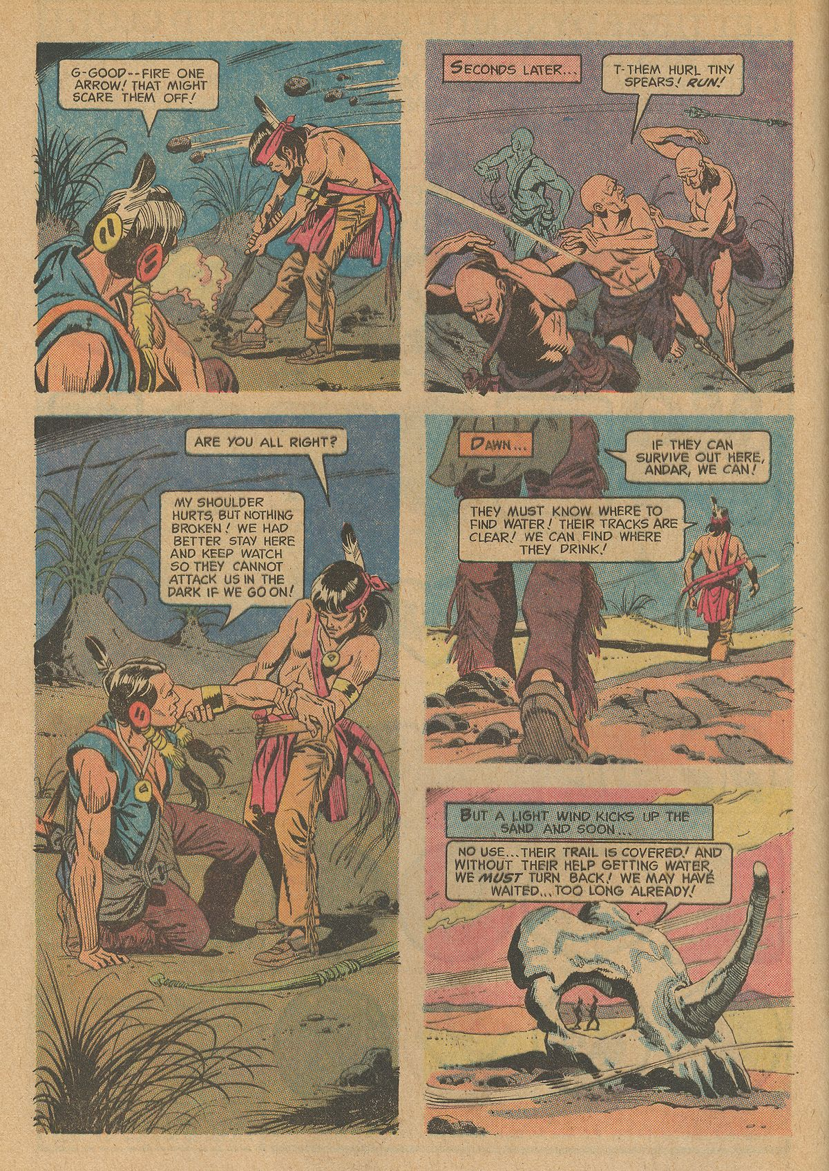 Read online Turok, Son of Stone comic -  Issue #83 - 8