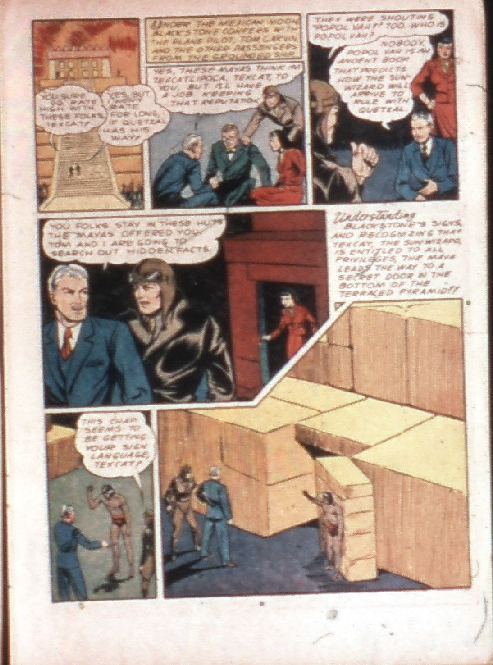 Read online Super-Magician Comics comic -  Issue #4 - 13