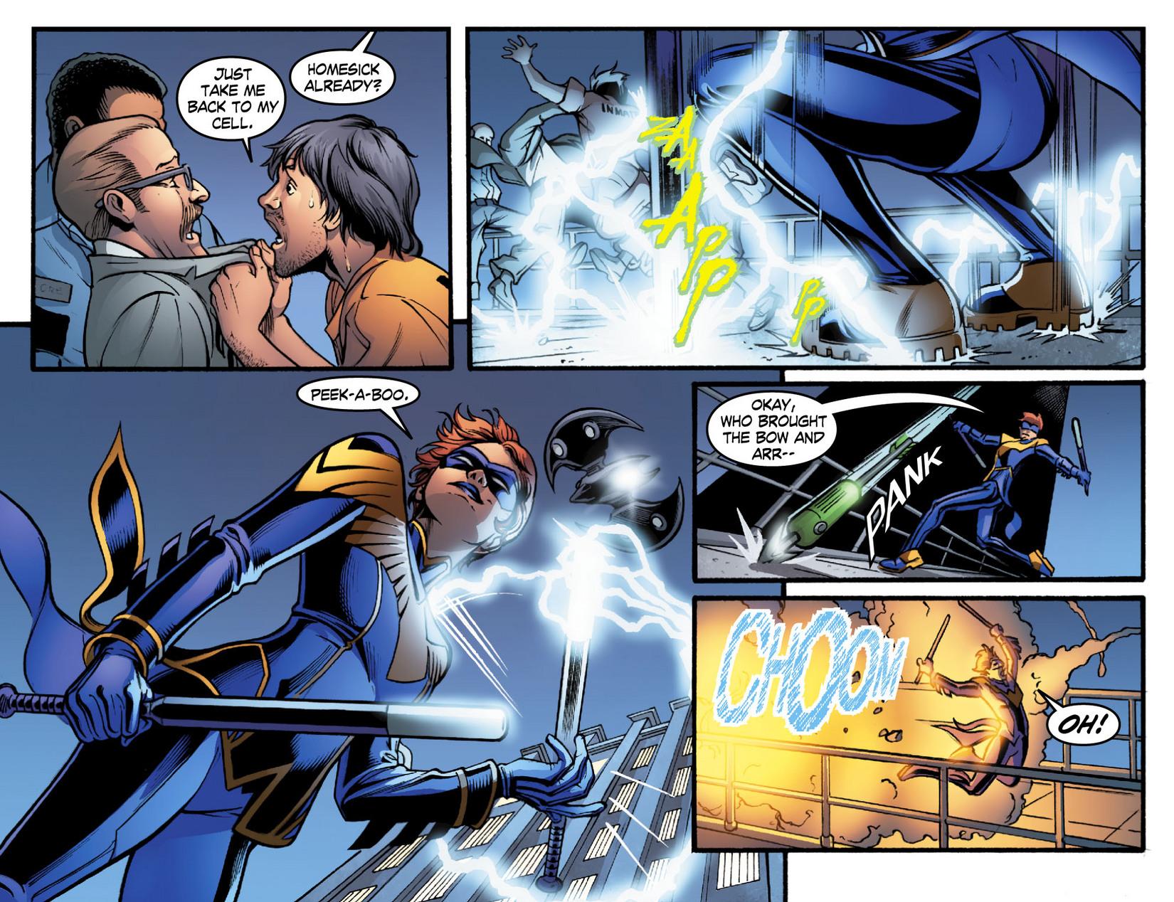 Read online Smallville: Season 11 comic -  Issue #16 - 15