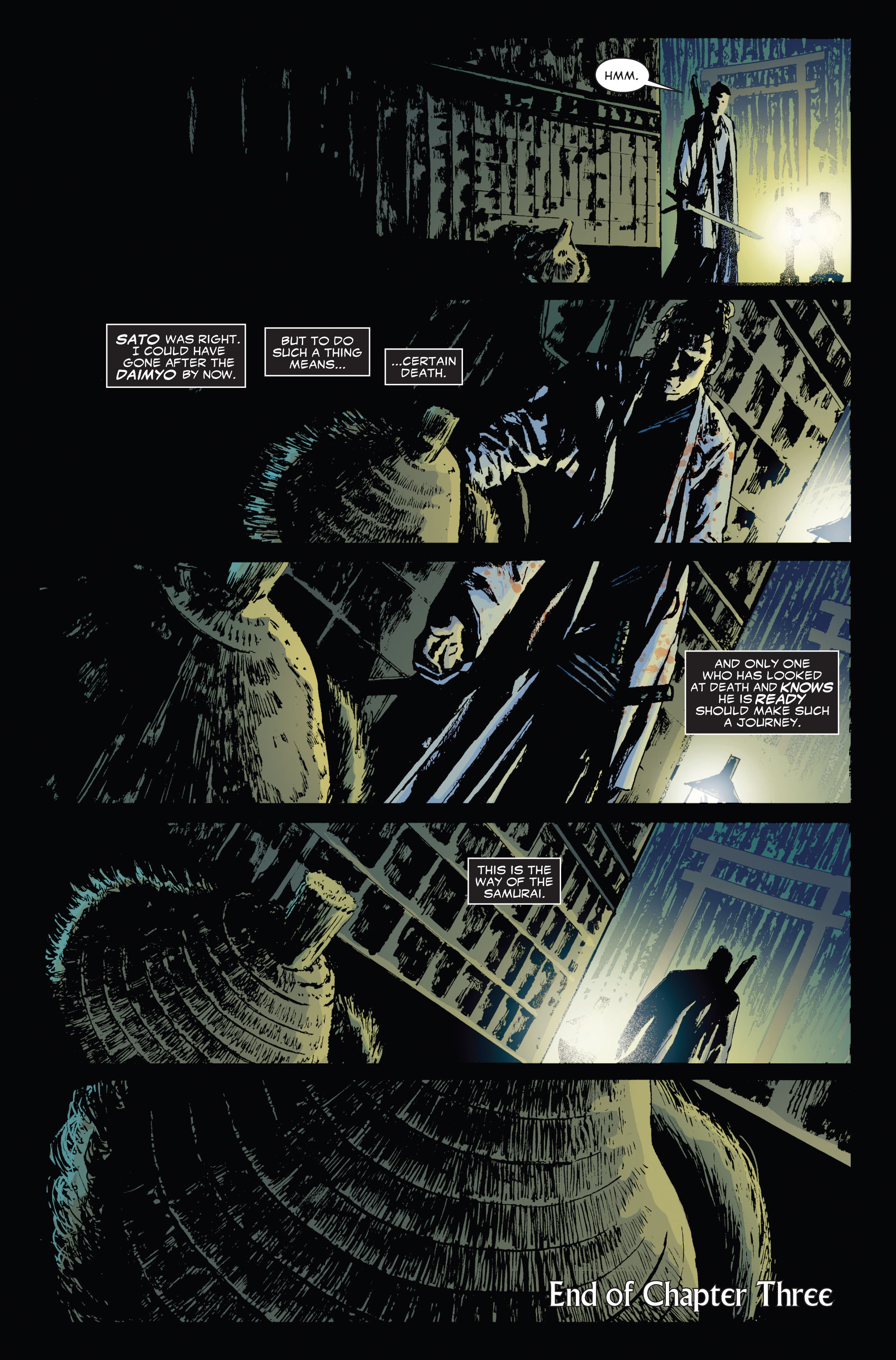 Read online 5 Ronin (2011) comic -  Issue #3 - 23