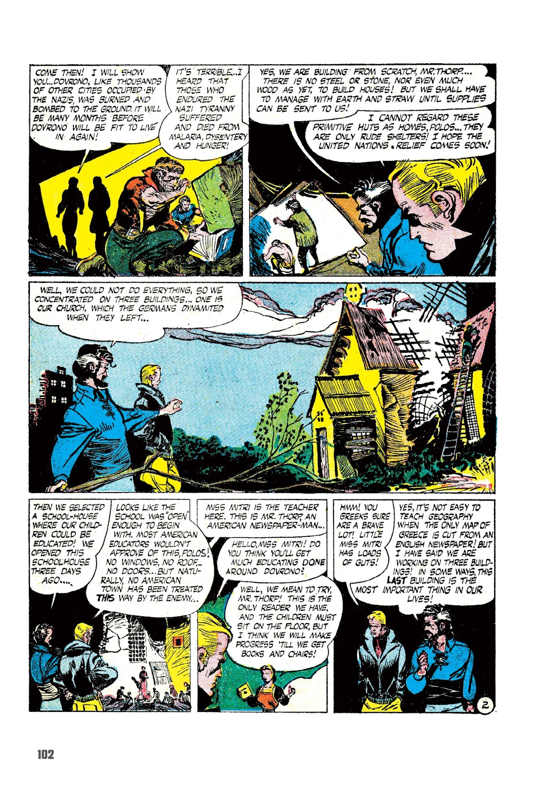 Read online The Joe Kubert Archives comic -  Issue # TPB (Part 2) - 13