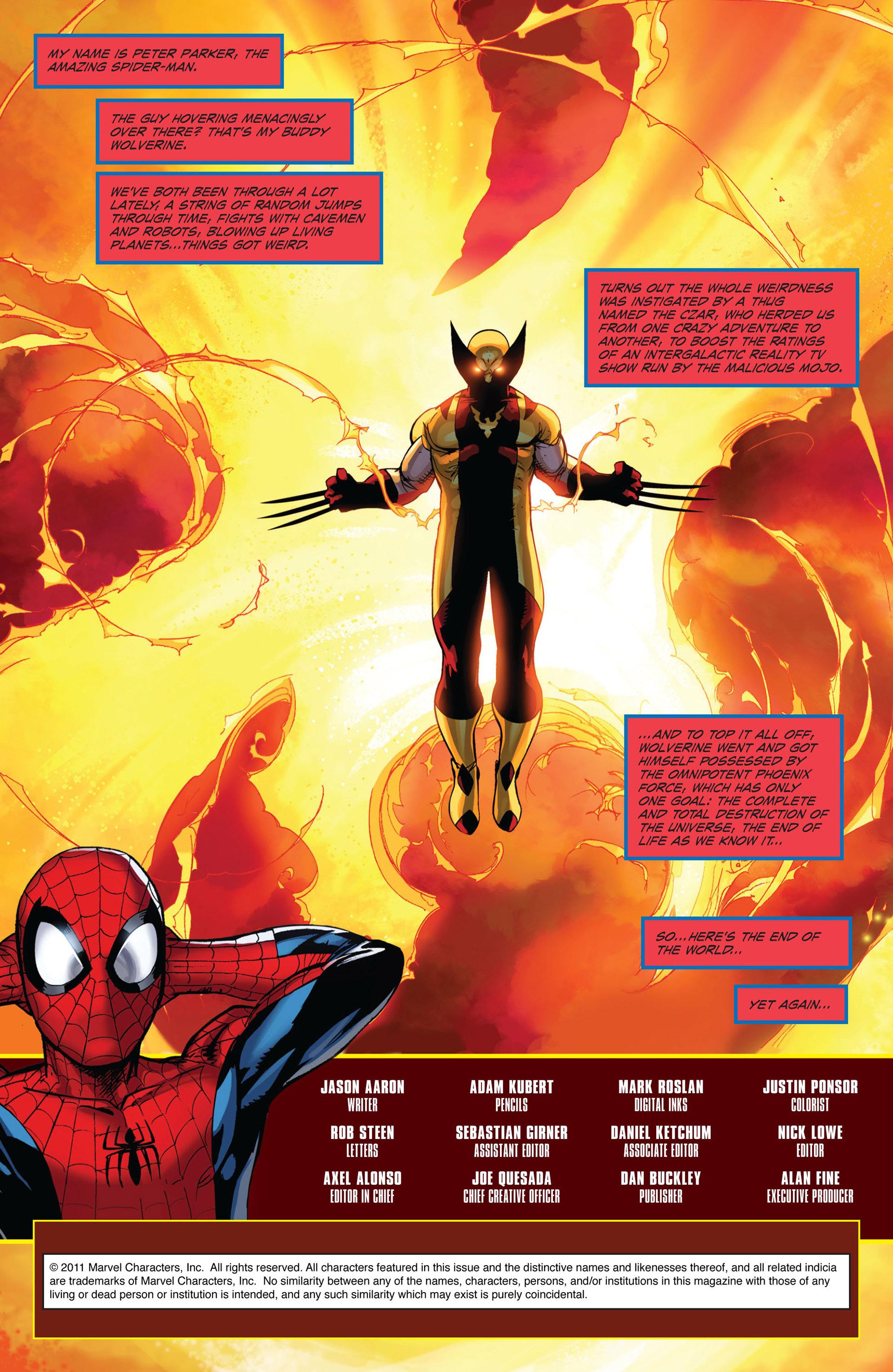 Read online Astonishing Spider-Man & Wolverine comic -  Issue #6 - 2