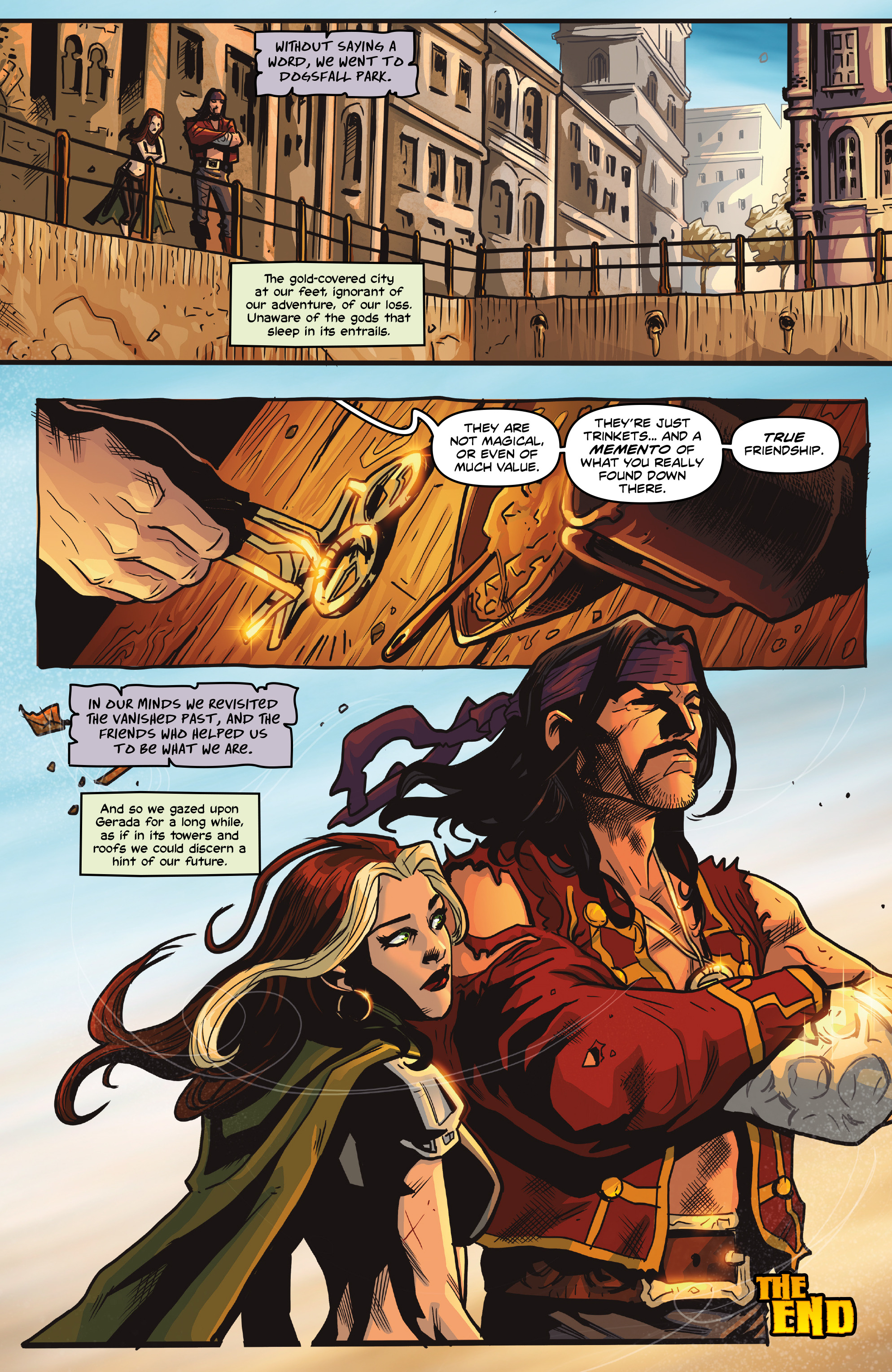 Read online Rogues!: The Burning Heart comic -  Issue #5 - 23