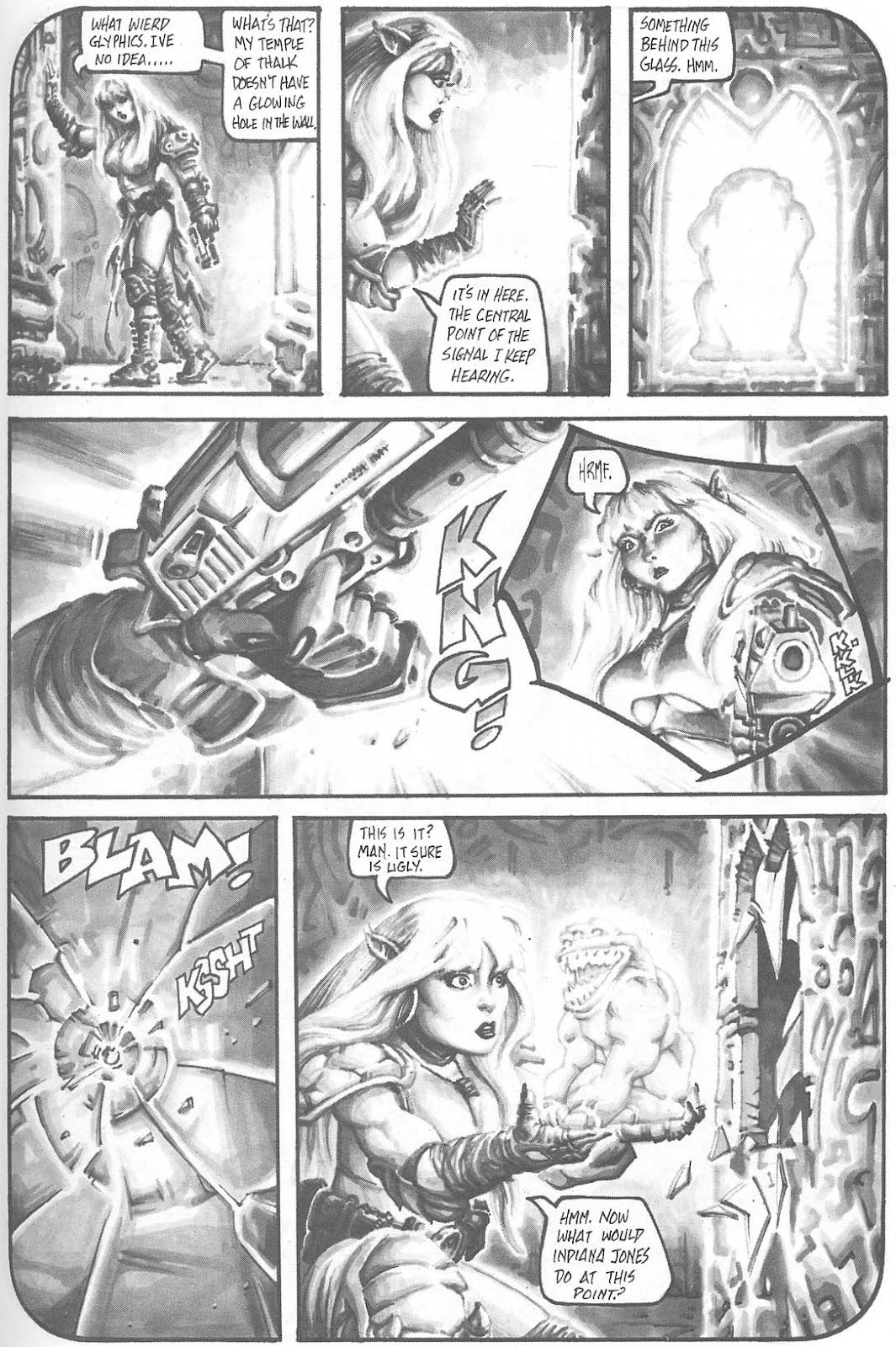 Read online Animal Mystic comic -  Issue #4 - 41