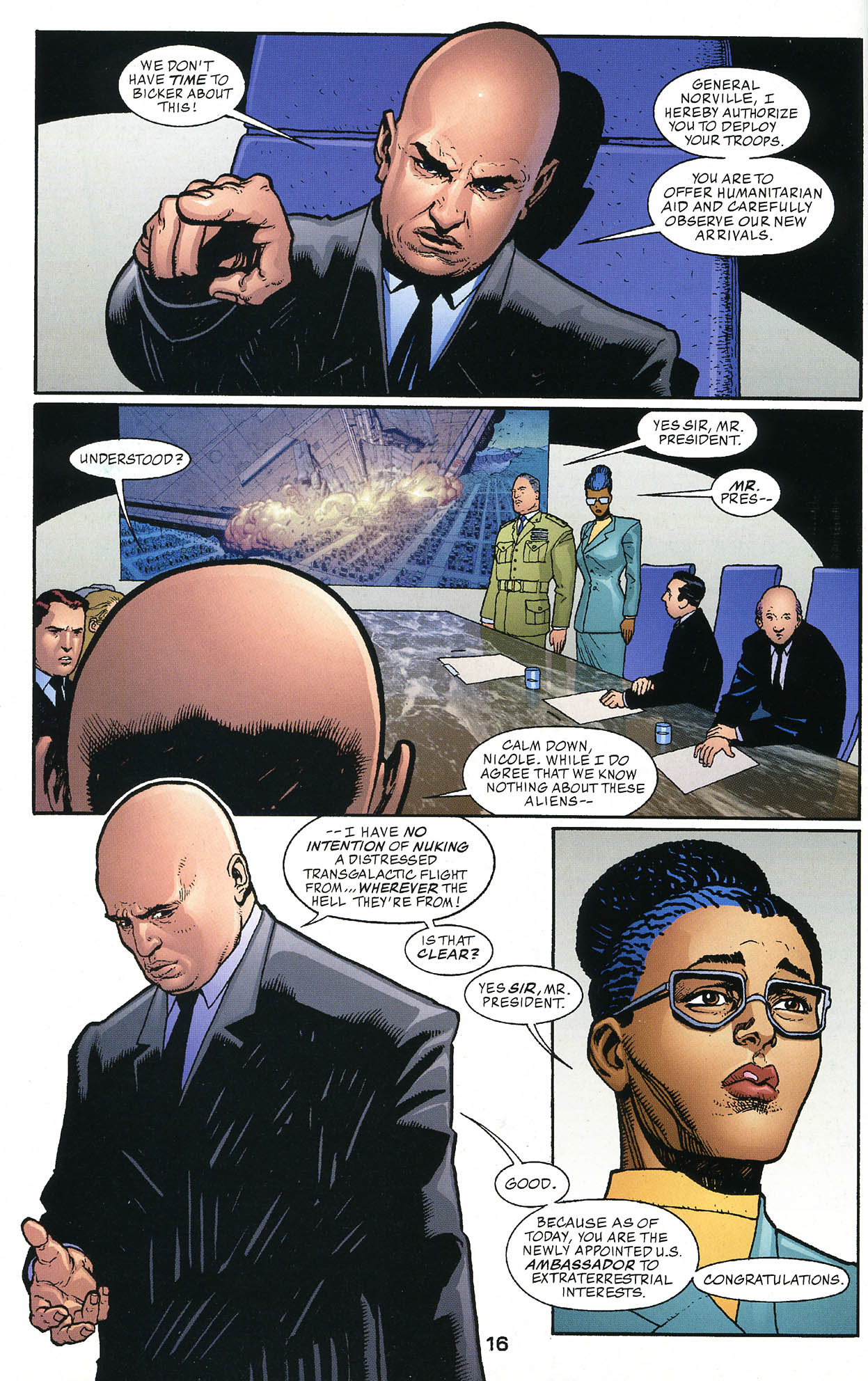 Read online JLA/Haven: Arrival comic -  Issue # Full - 16