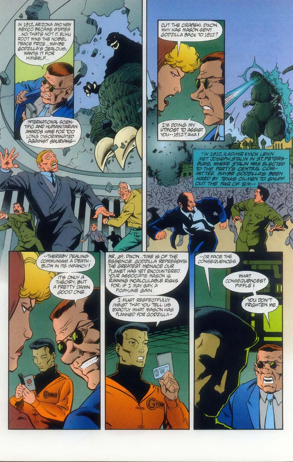 Godzilla (1995) Issue #11 #12 - English 8