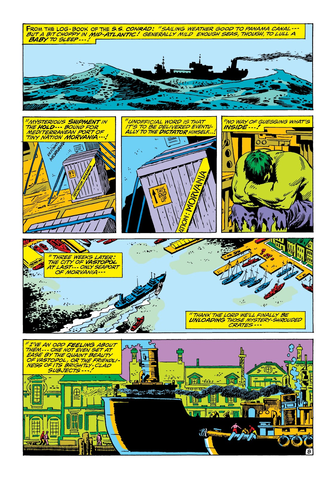 Read online Marvel Masterworks: The Incredible Hulk comic -  Issue # TPB 6 (Part 3) - 42