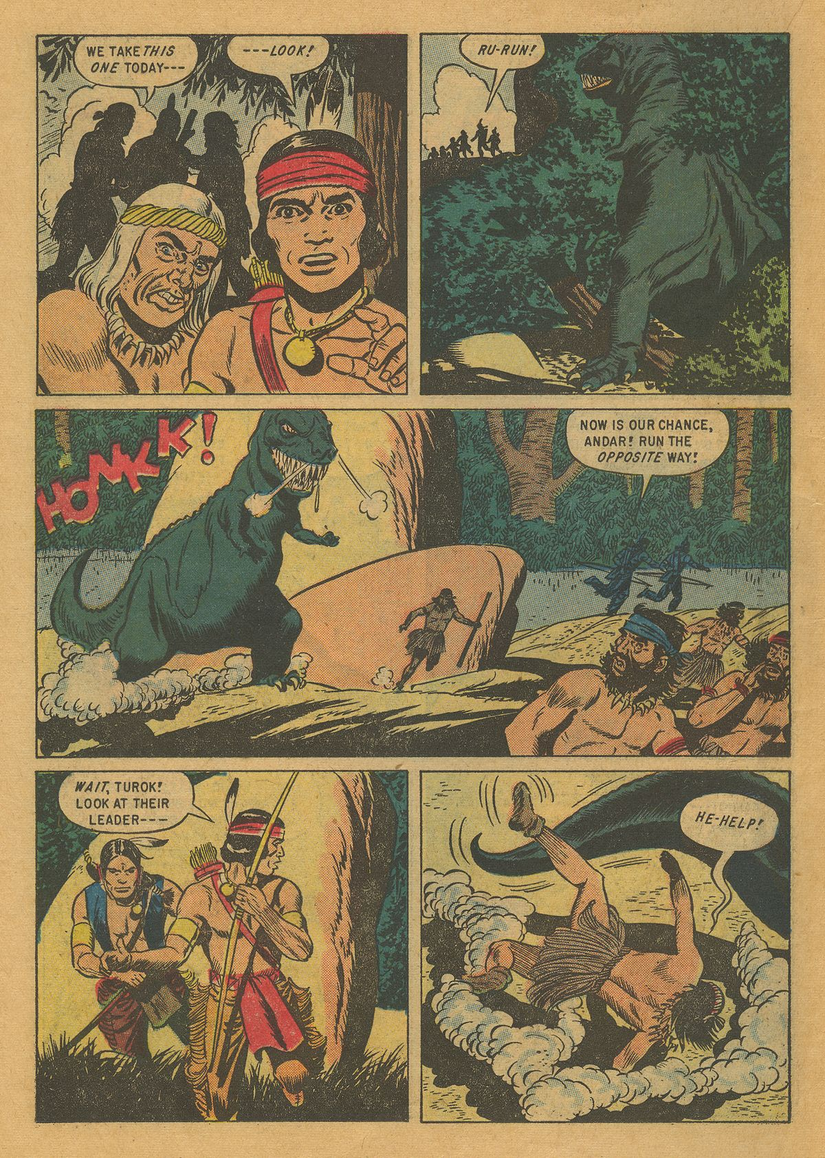 Read online Turok, Son of Stone comic -  Issue #10 - 18