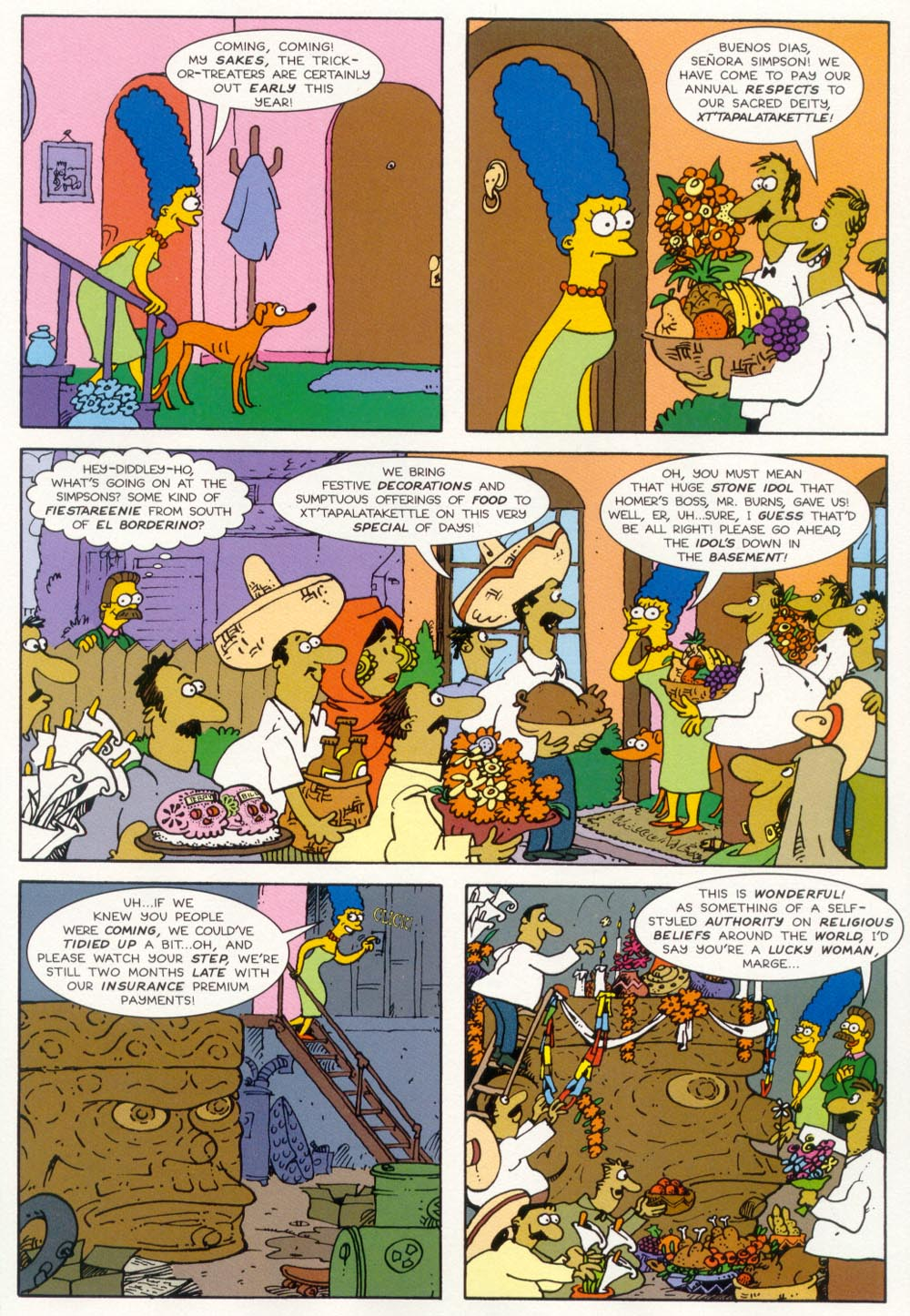Read online Treehouse of Horror comic -  Issue #5 - 18