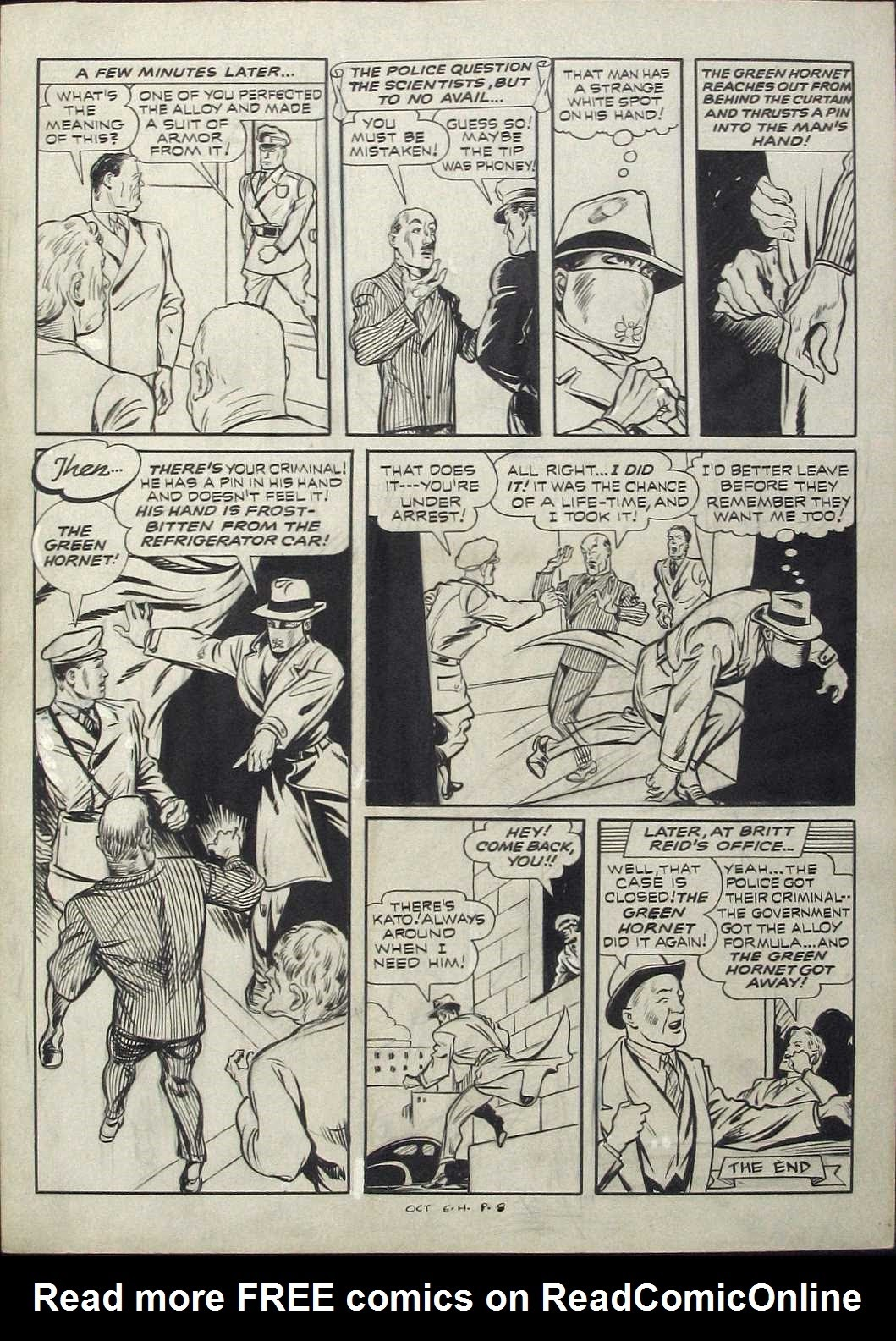 Green Hornet Comics issue 9 - Page 8