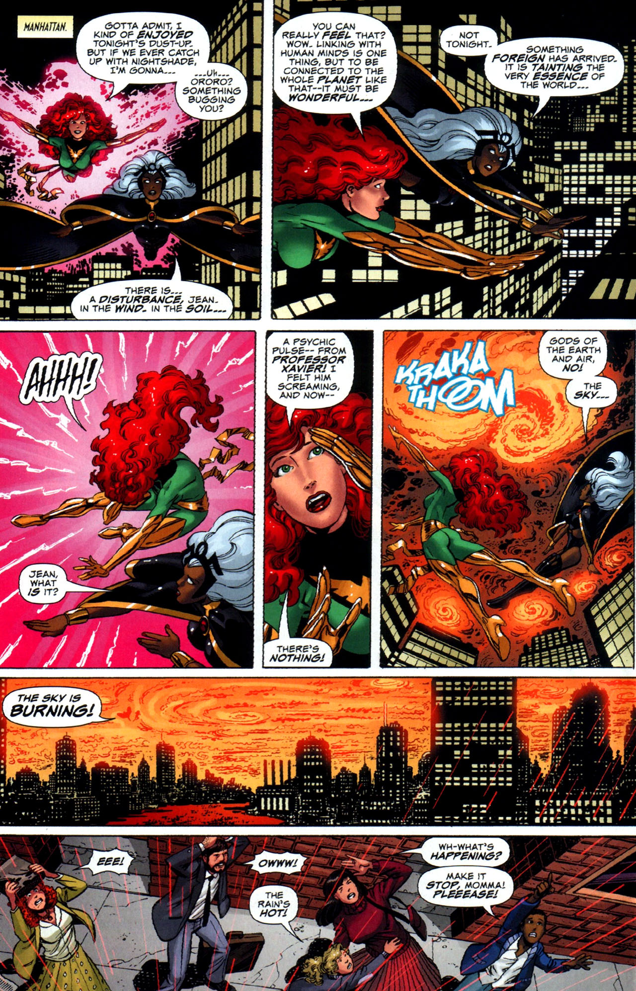 Read online Uncanny X-Men: First Class comic -  Issue #5 - 14