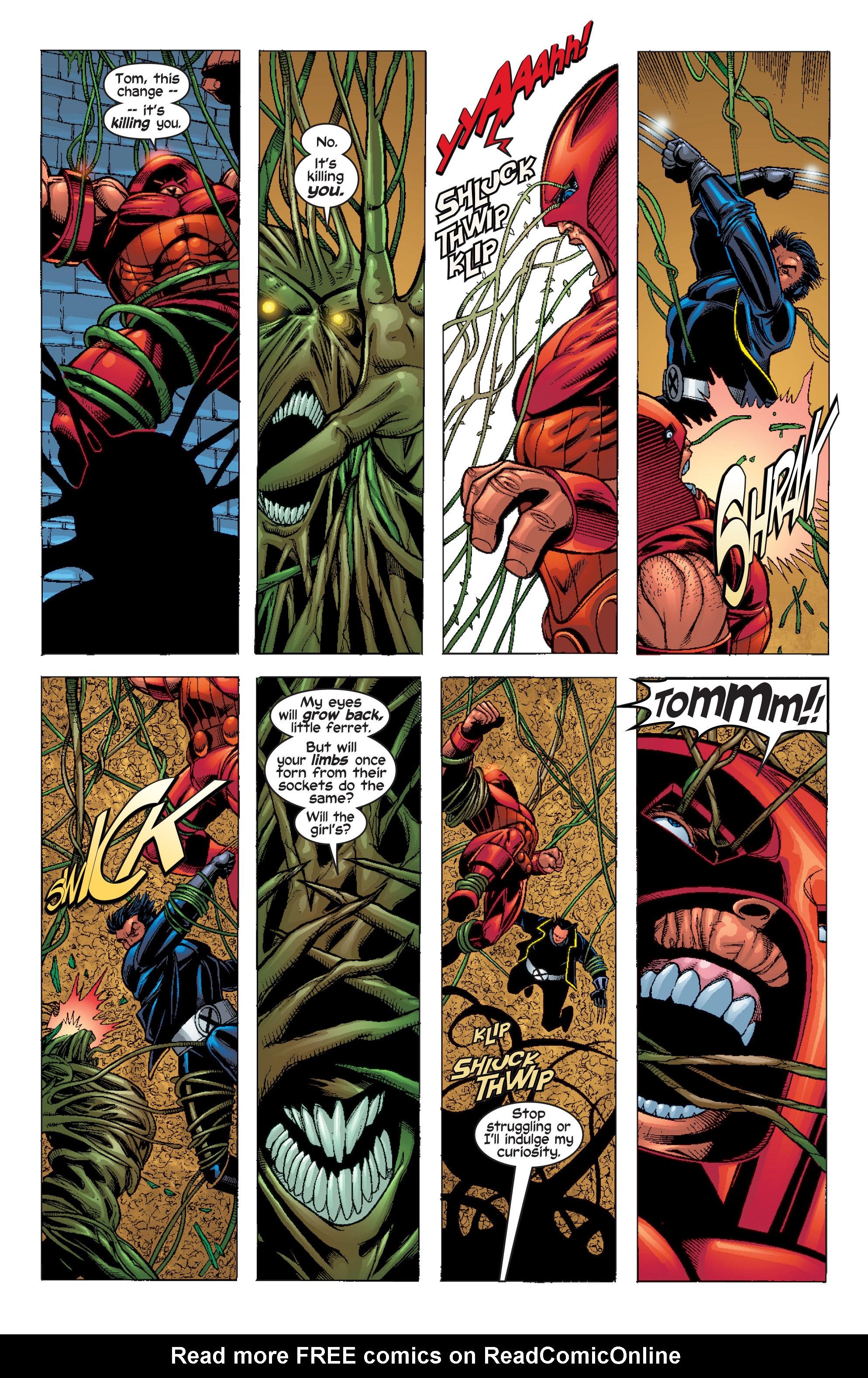 Read online Uncanny X-Men (1963) comic -  Issue #411 - 18