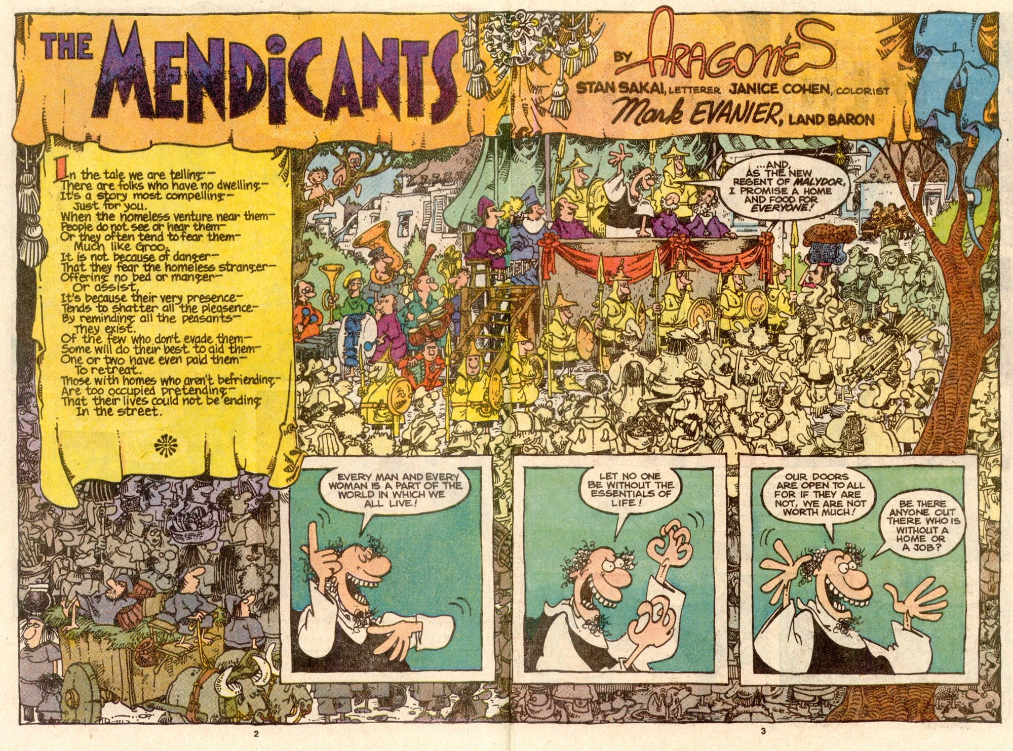 Read online Sergio Aragonés Groo the Wanderer comic -  Issue #60 - 3