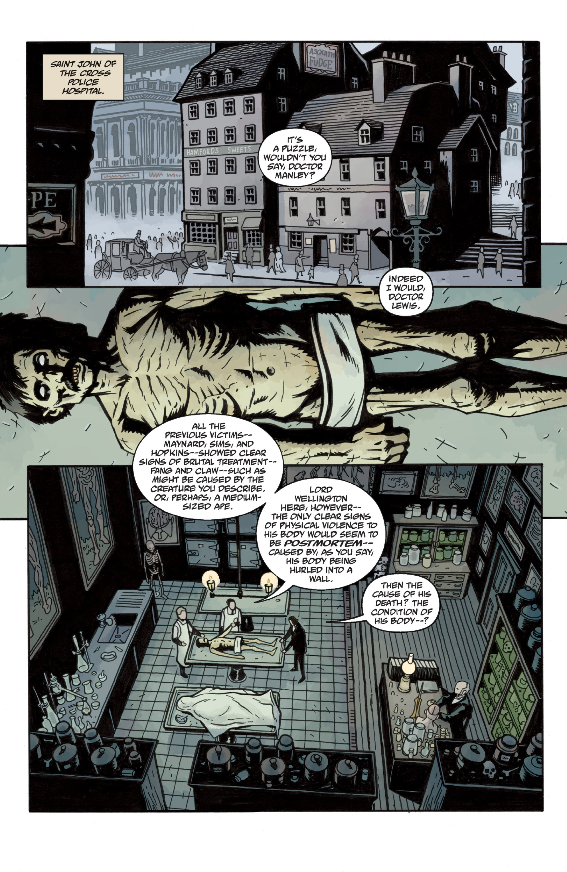 Read online Sir Edward Grey, Witchfinder: In the Service of Angels comic -  Issue # TPB - 23