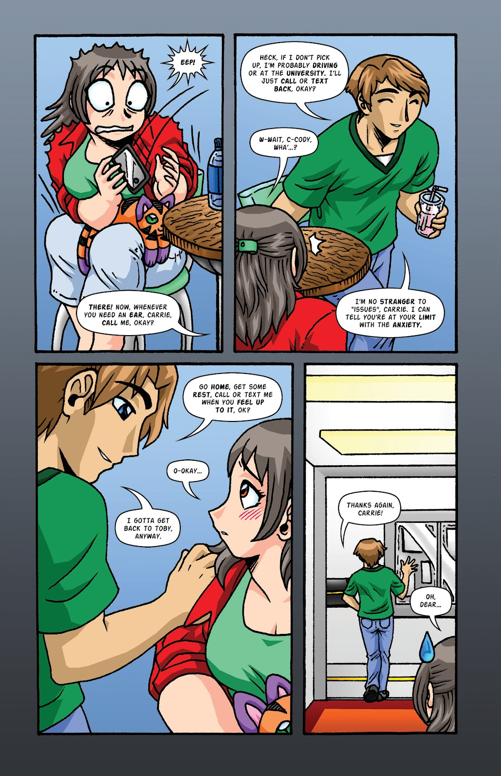 Read online Plush comic -  Issue #2 - 20