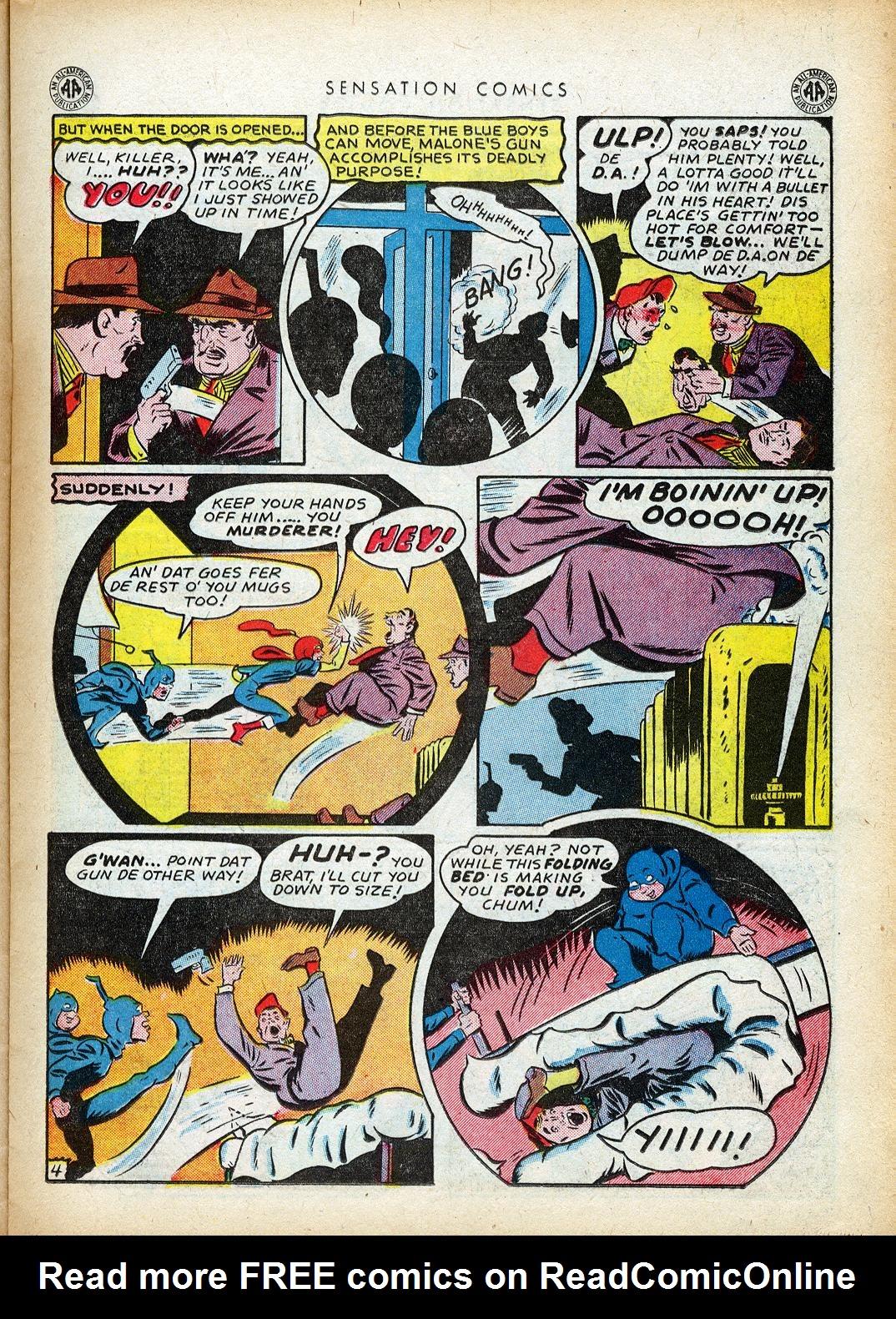 Read online Sensation (Mystery) Comics comic -  Issue #40 - 23
