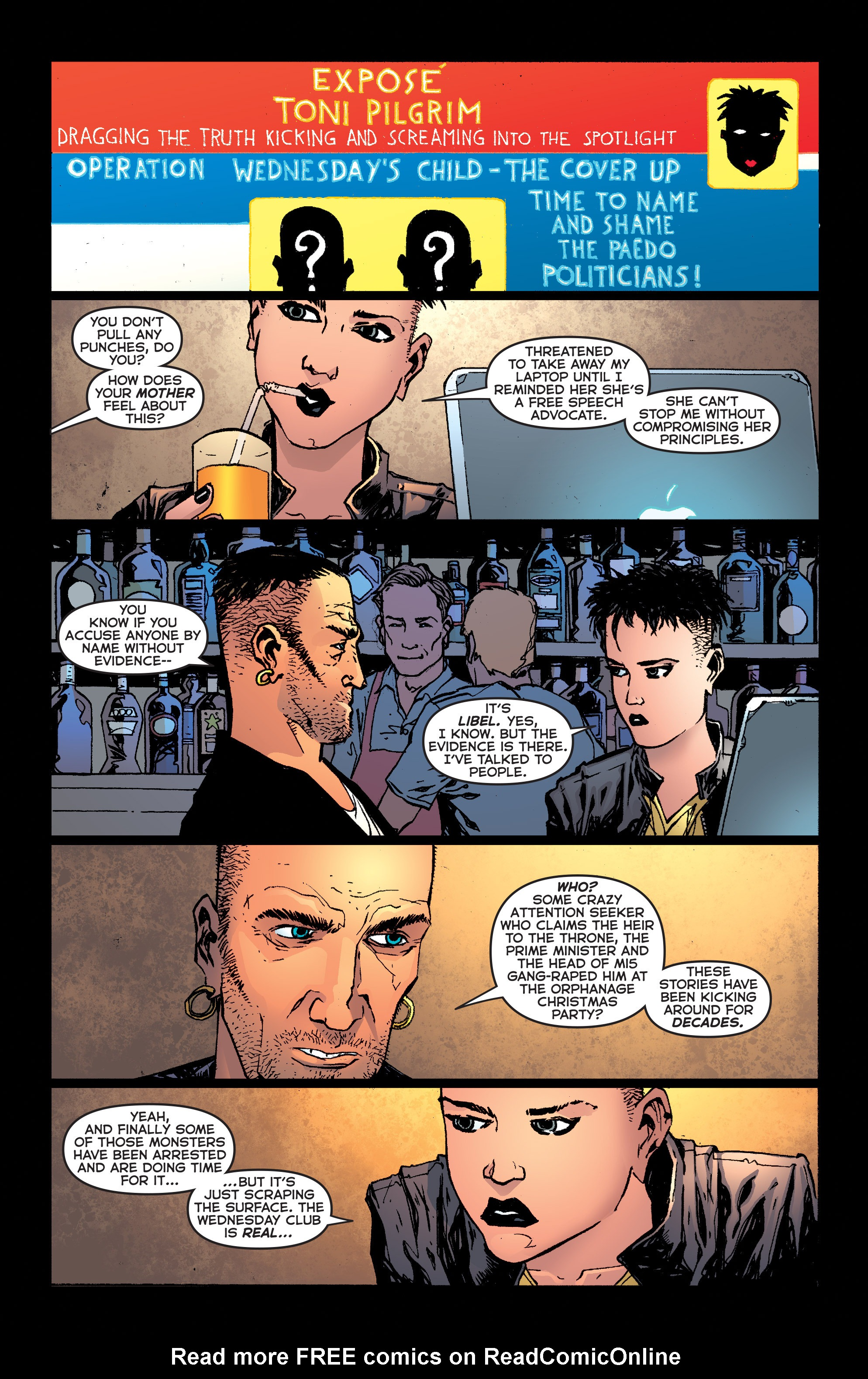 Read online Second Sight comic -  Issue #1 - 10