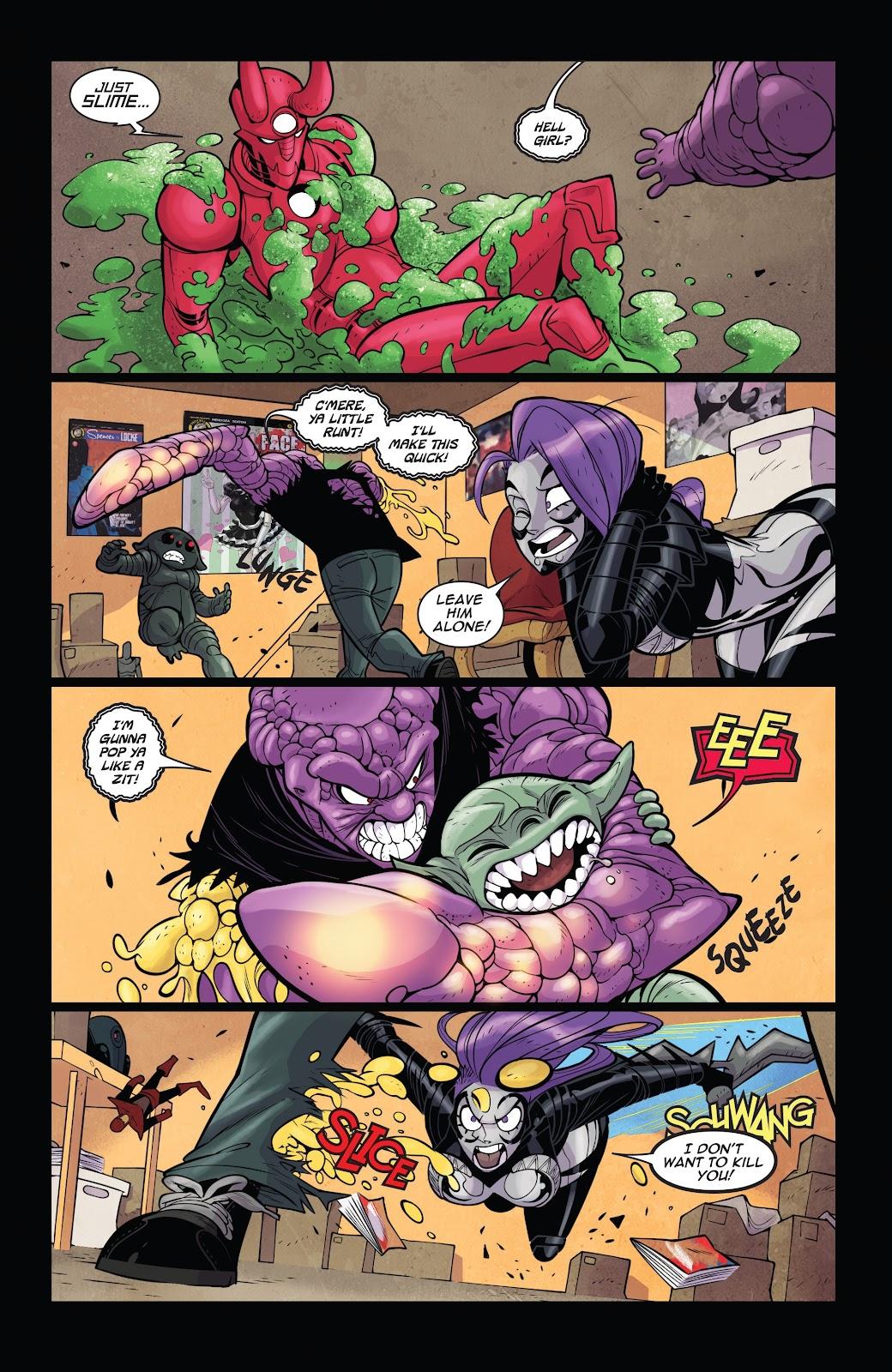 Read online Vampblade Season 3 comic -  Issue #11 - 18