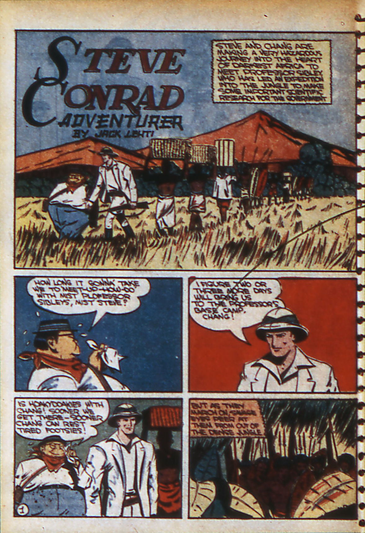 Read online Adventure Comics (1938) comic -  Issue #57 - 49