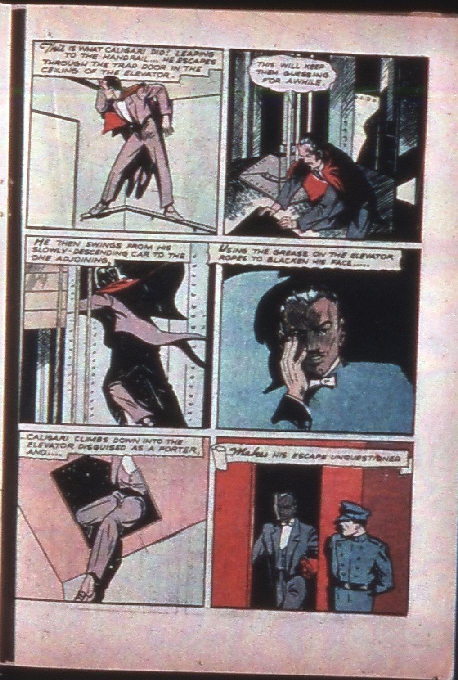 Read online Super-Magician Comics comic -  Issue #7 - 42