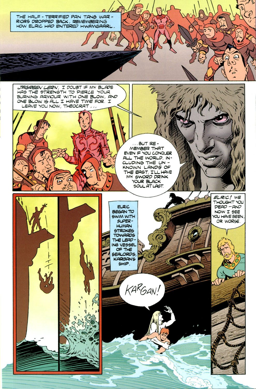 Read online Elric: Stormbringer comic -  Issue #4 - 8