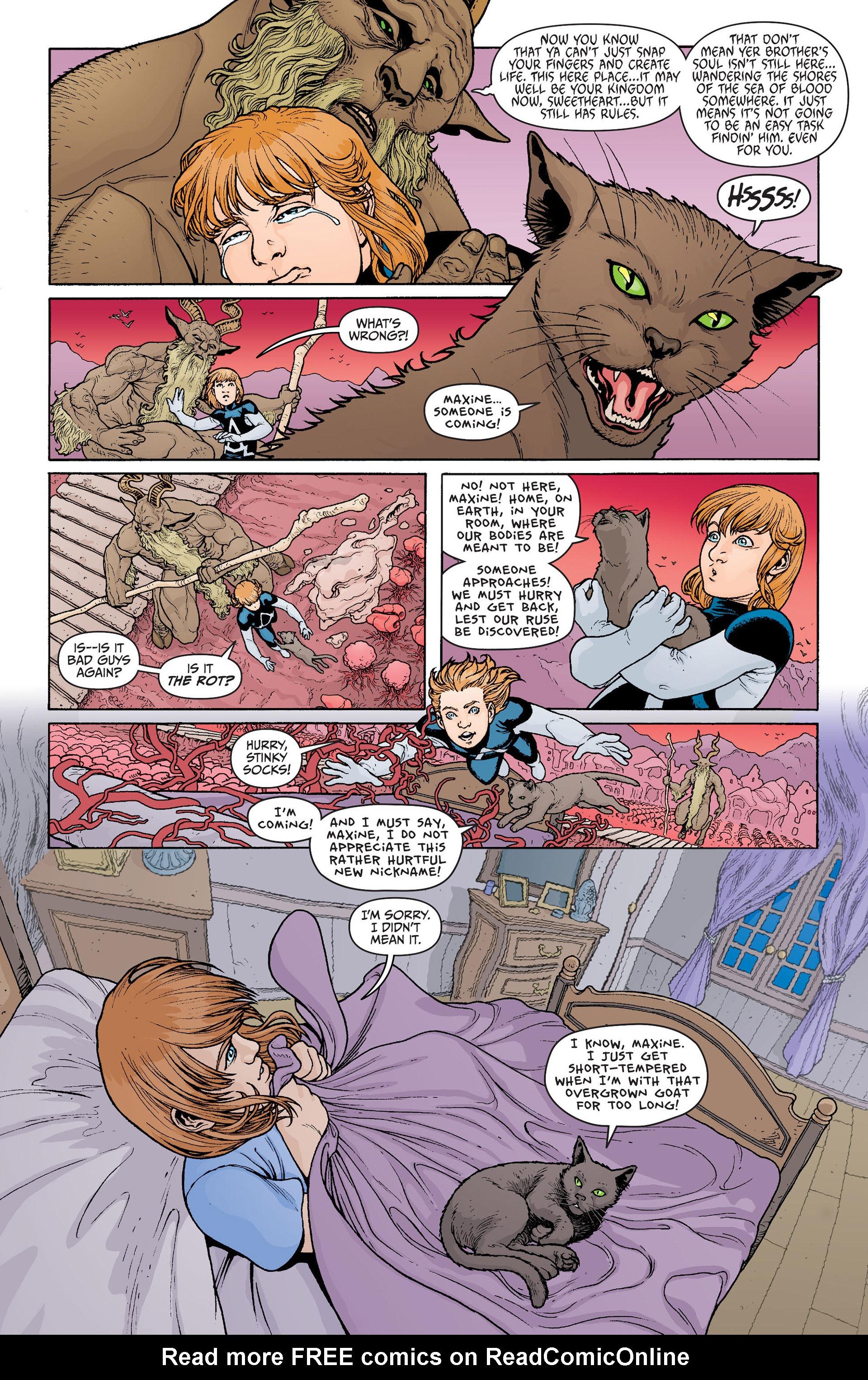 Read online Animal Man (2011) comic -  Issue #22 - 16