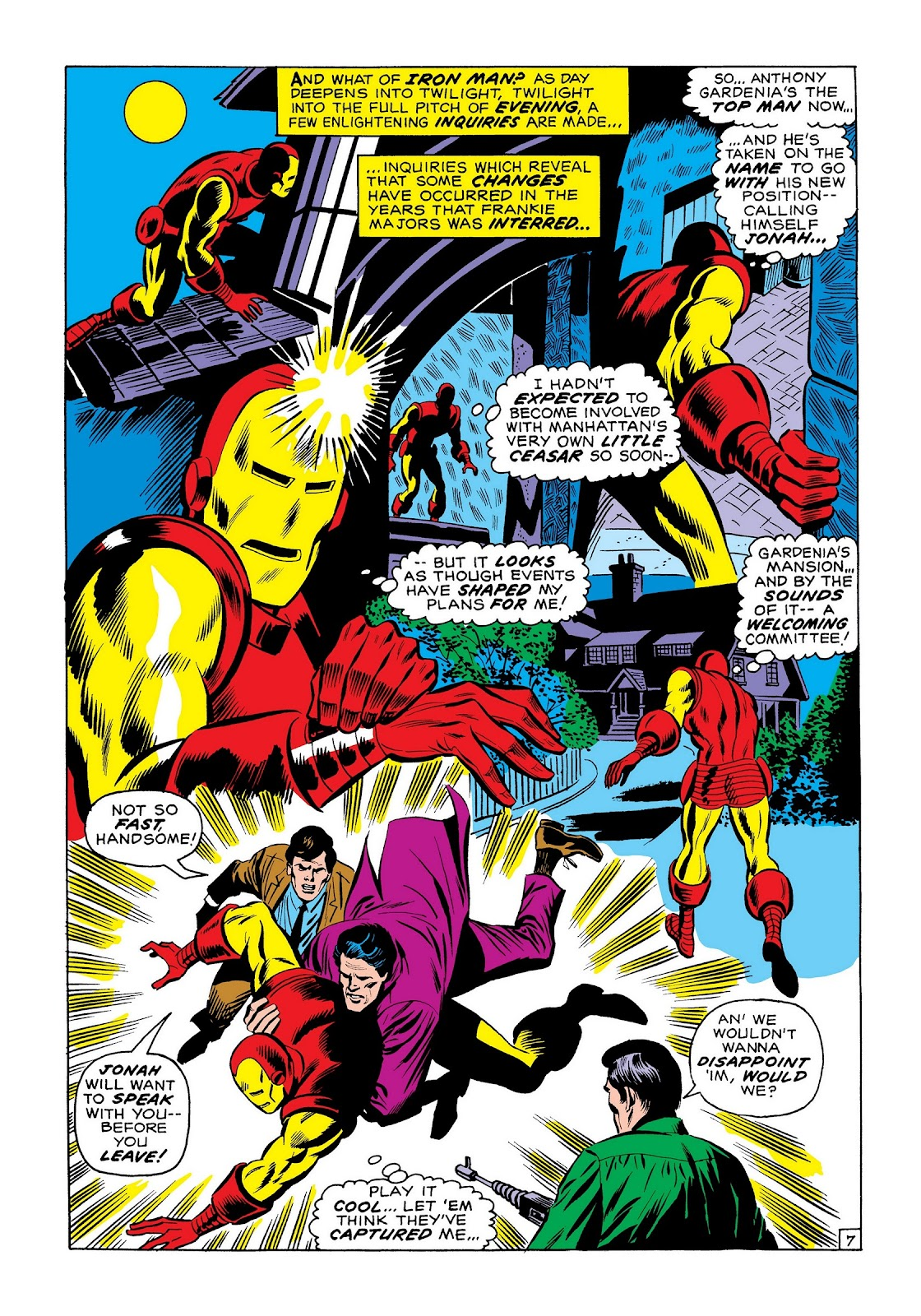 Read online Marvel Masterworks: The Invincible Iron Man comic -  Issue # TPB 7 (Part 3) - 76