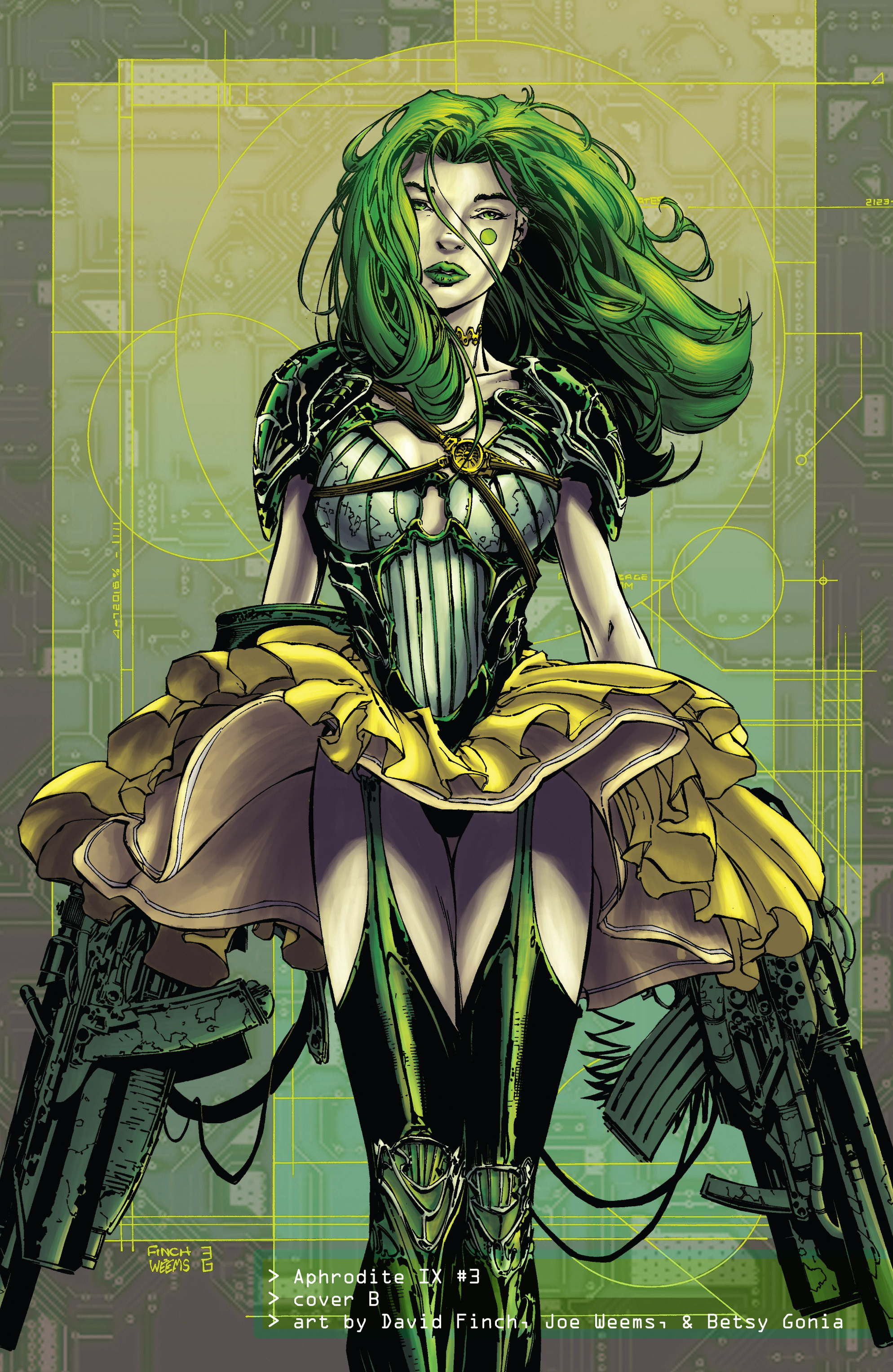 Read online Aphrodite IX (2013) comic -  Issue #Aphrodite IX (2013) _TPB 1 - 113