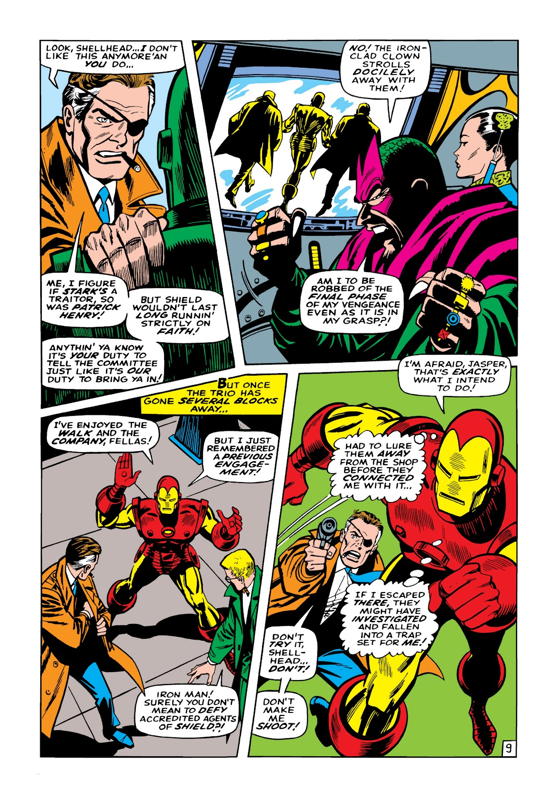 Read online Marvel Masterworks: The Invincible Iron Man comic -  Issue # TPB 5 (Part 2) - 84