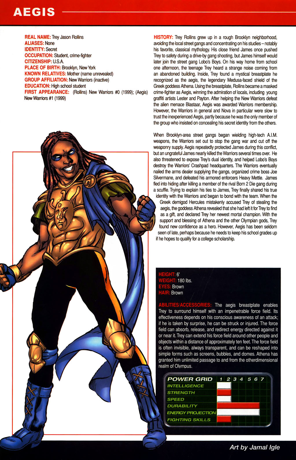 Read online All-New Official Handbook of the Marvel Universe A to Z comic -  Issue #1 - 10