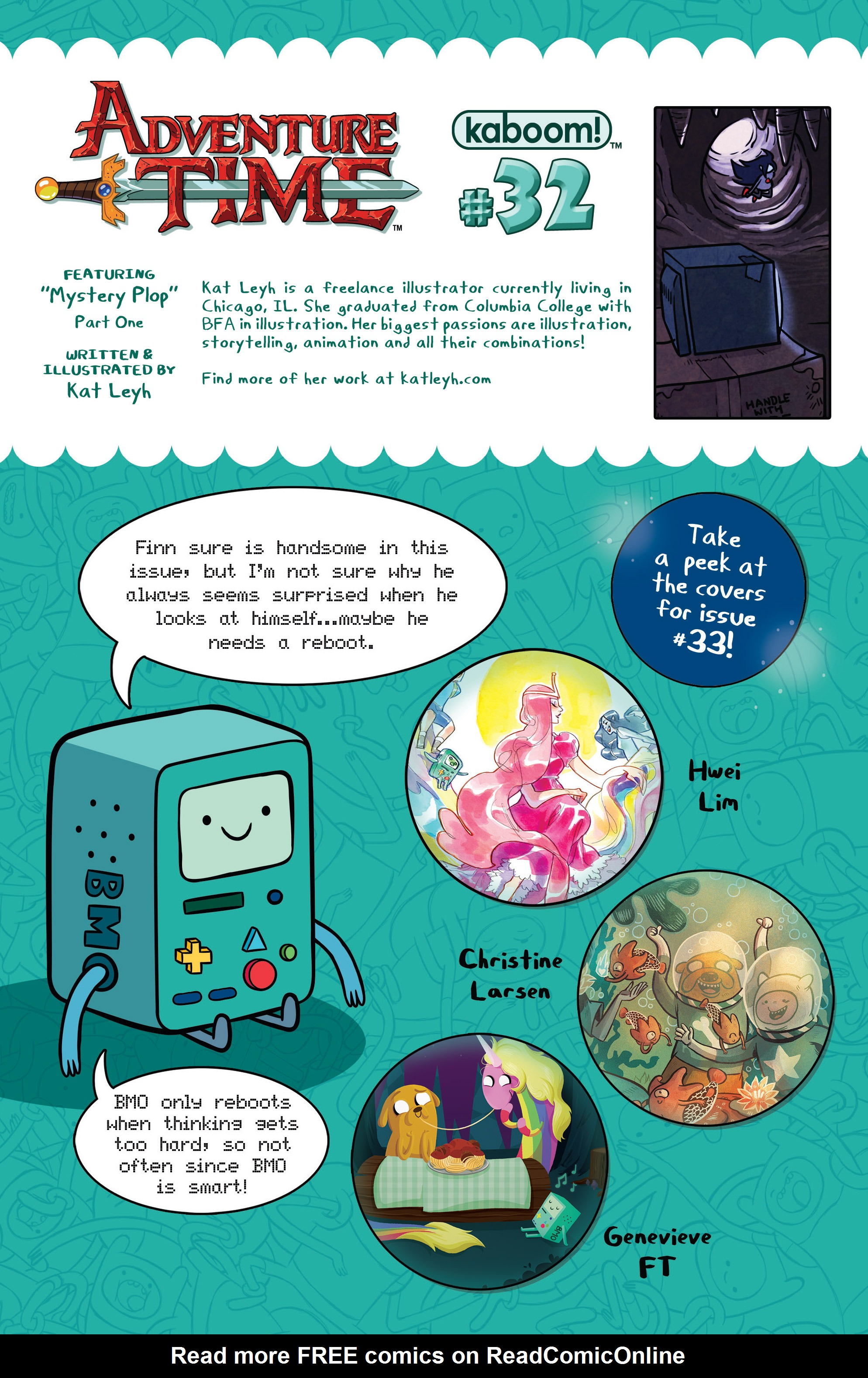 Read online Adventure Time comic -  Issue #32 - 24