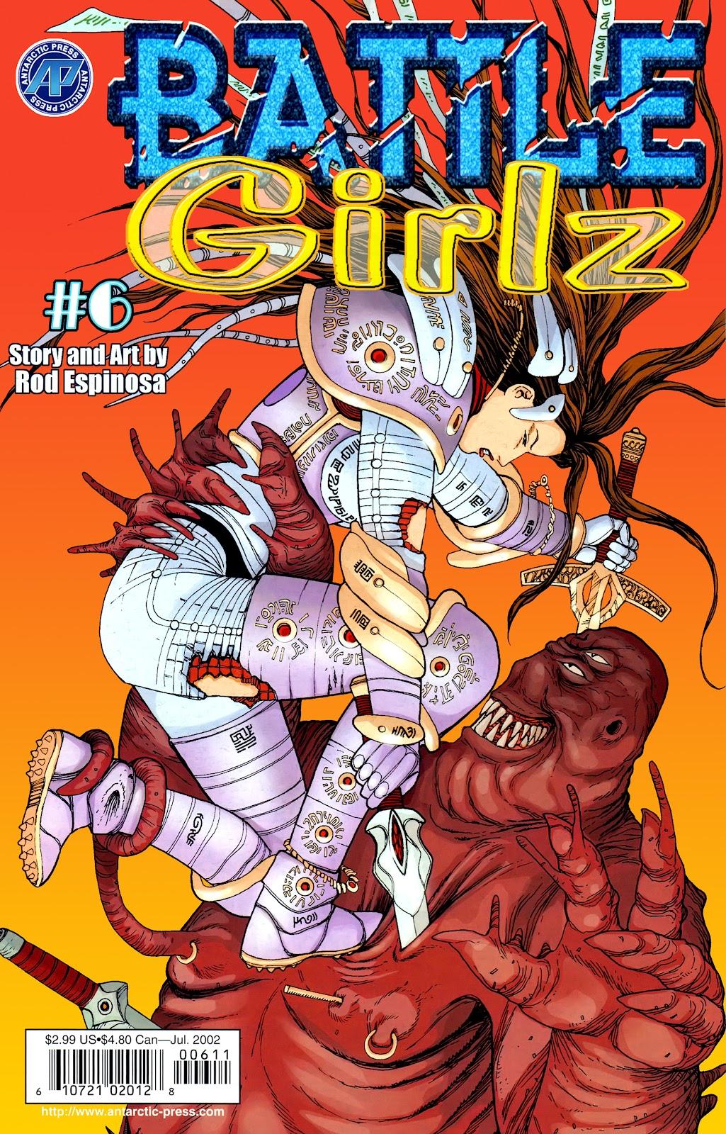 Battle Girlz 6 Page 1
